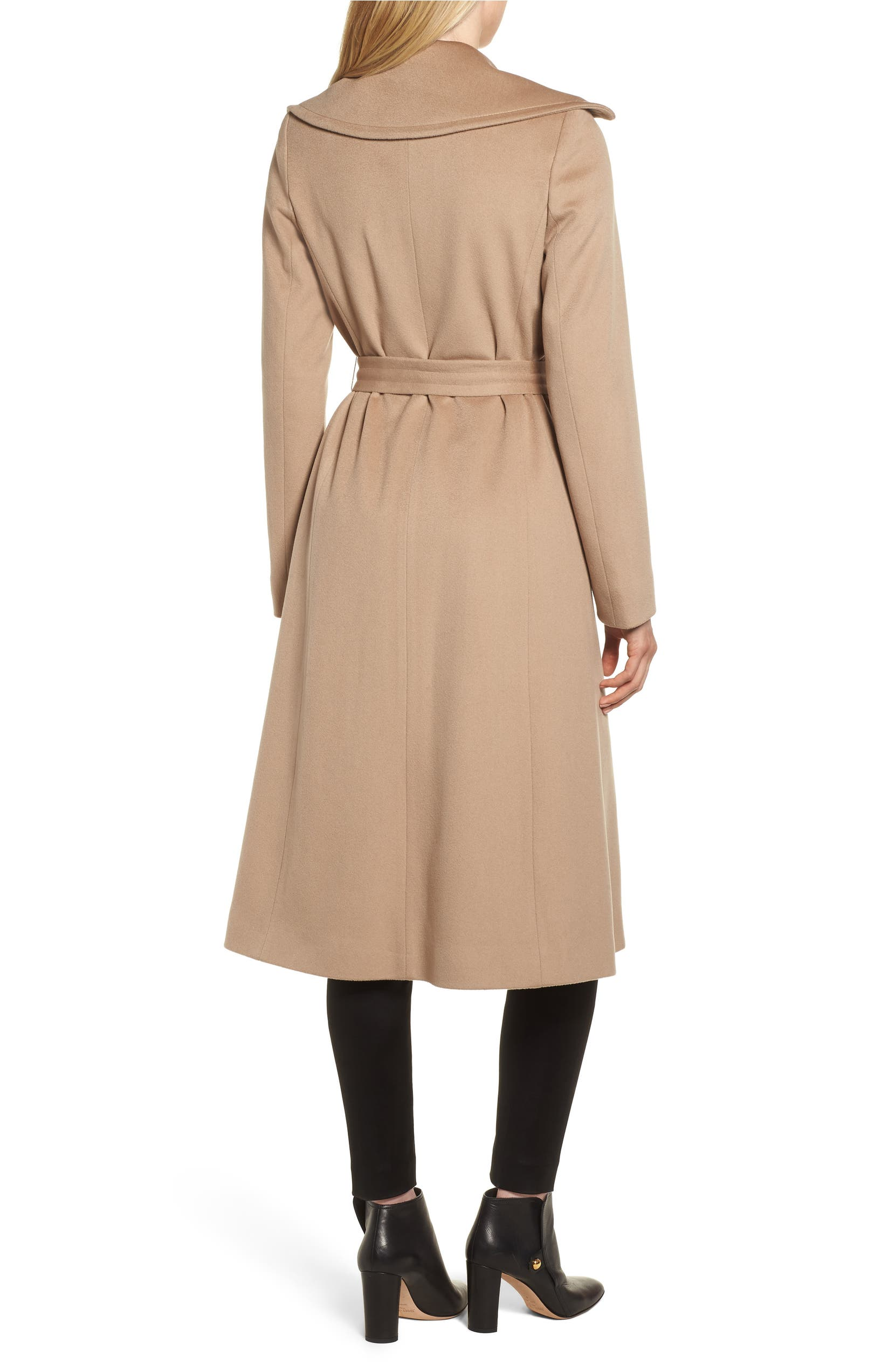 d5ba5039312 Fleurette Loro Piana Wool Wrap Coat