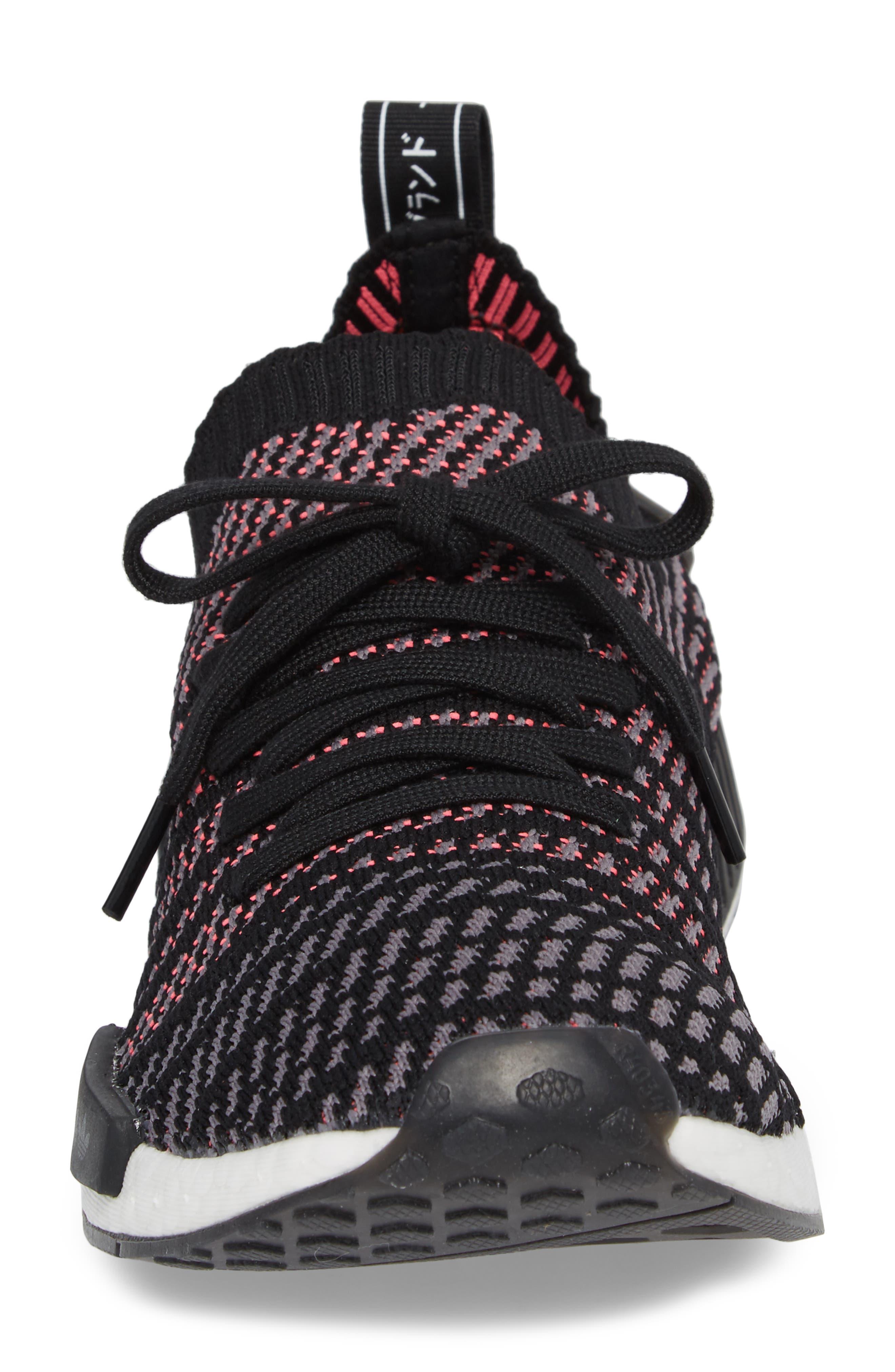 NMD R1 STLT Primeknit Sneaker,                             Alternate thumbnail 8, color,