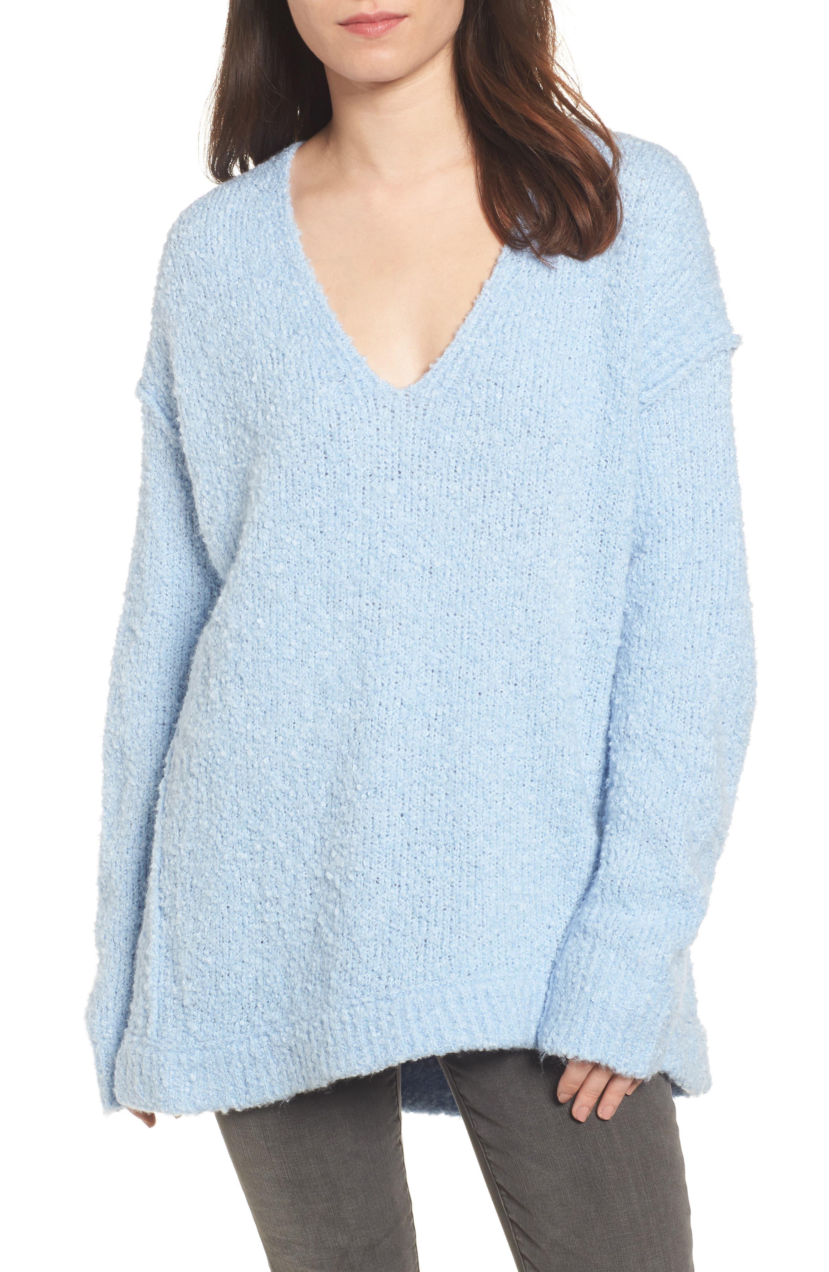 Lofty V-Neck Sweater,                             Main thumbnail 3, color,