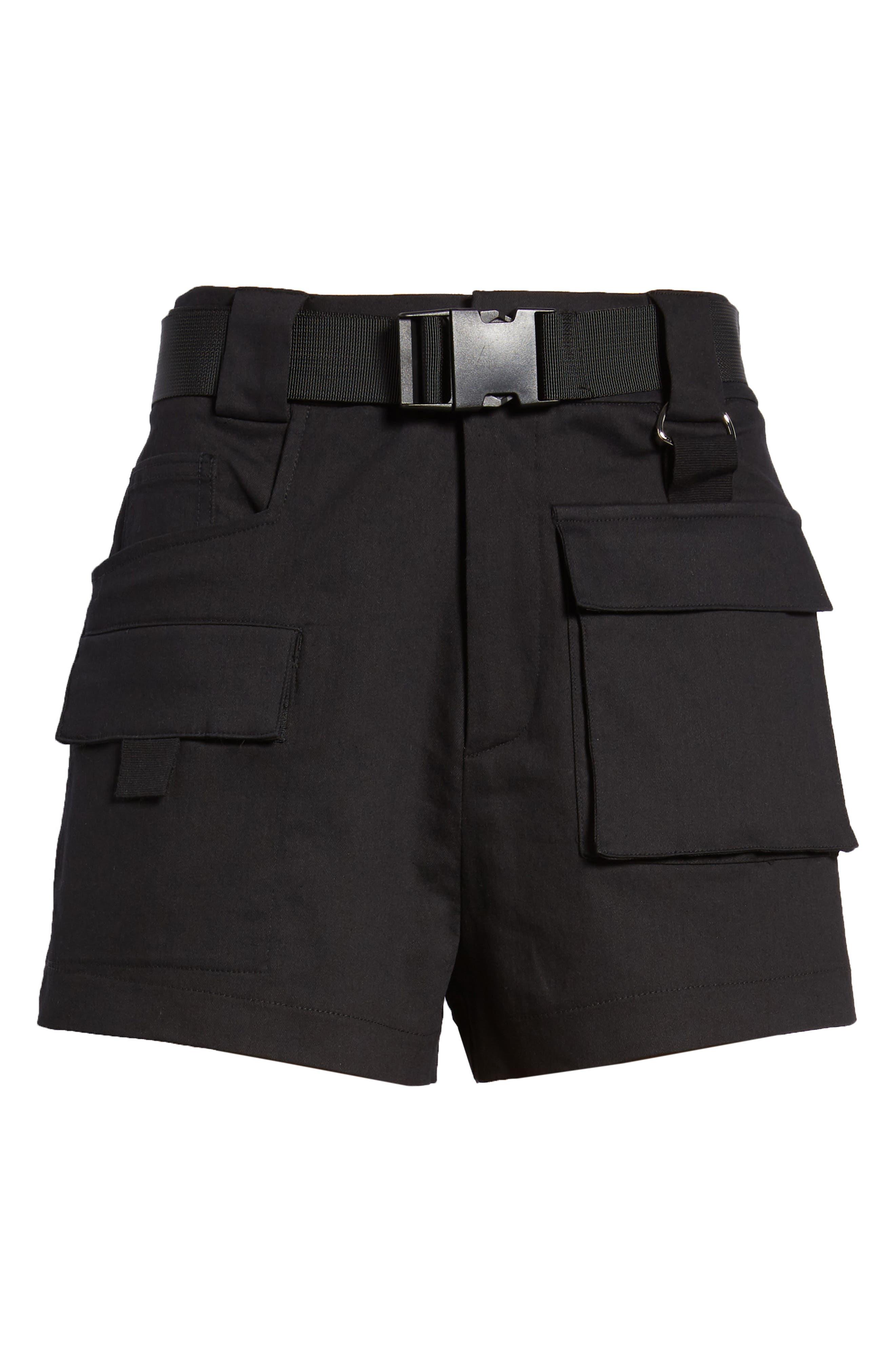 Harper Shorts,                             Alternate thumbnail 6, color,                             BLACK