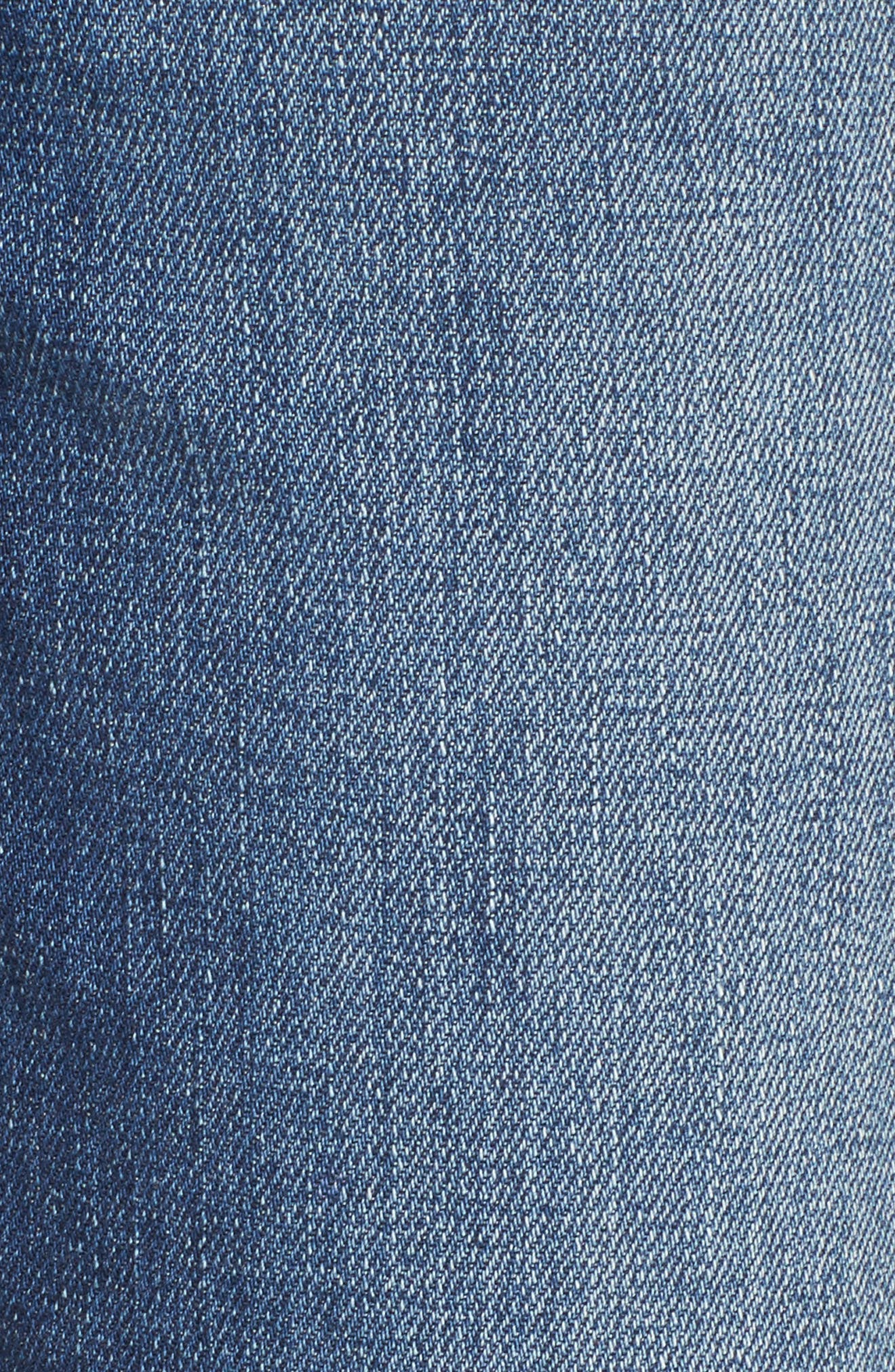 Your Favorite Distressed Straight Jeans,                             Alternate thumbnail 6, color,                             400