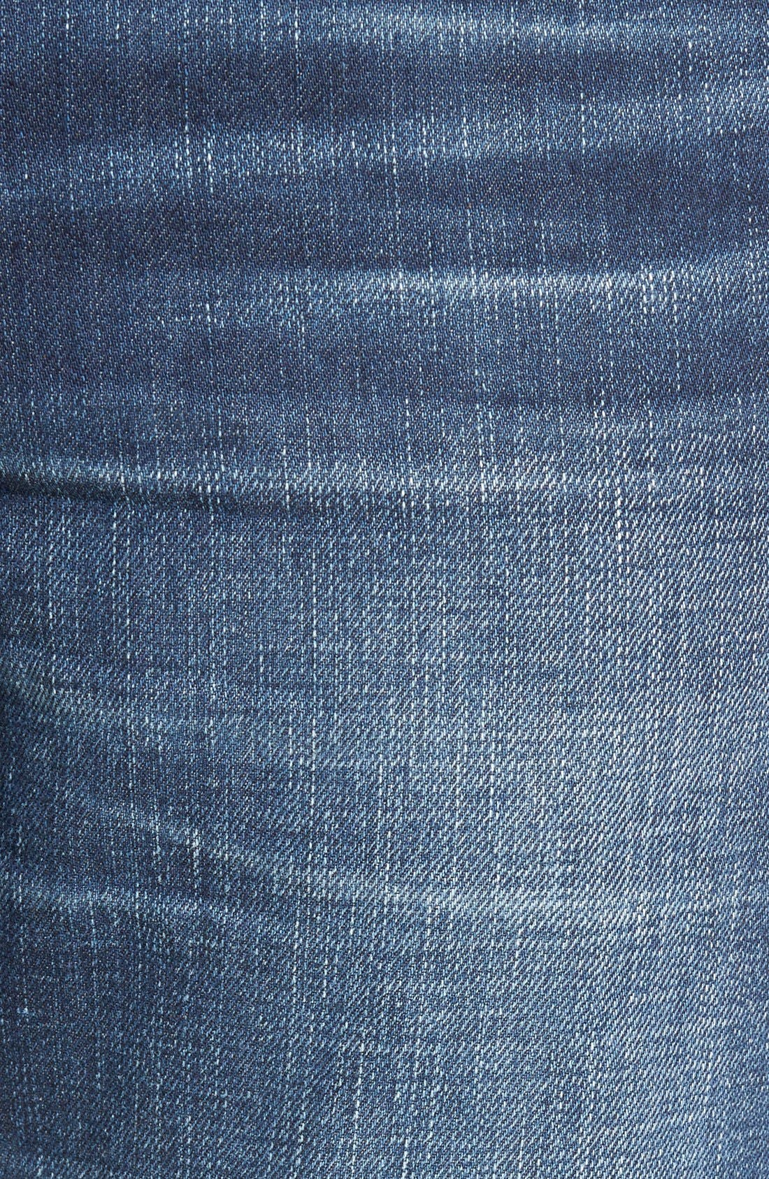 'Evans' Relaxed Fit Jeans,                             Alternate thumbnail 3, color,                             DERBY