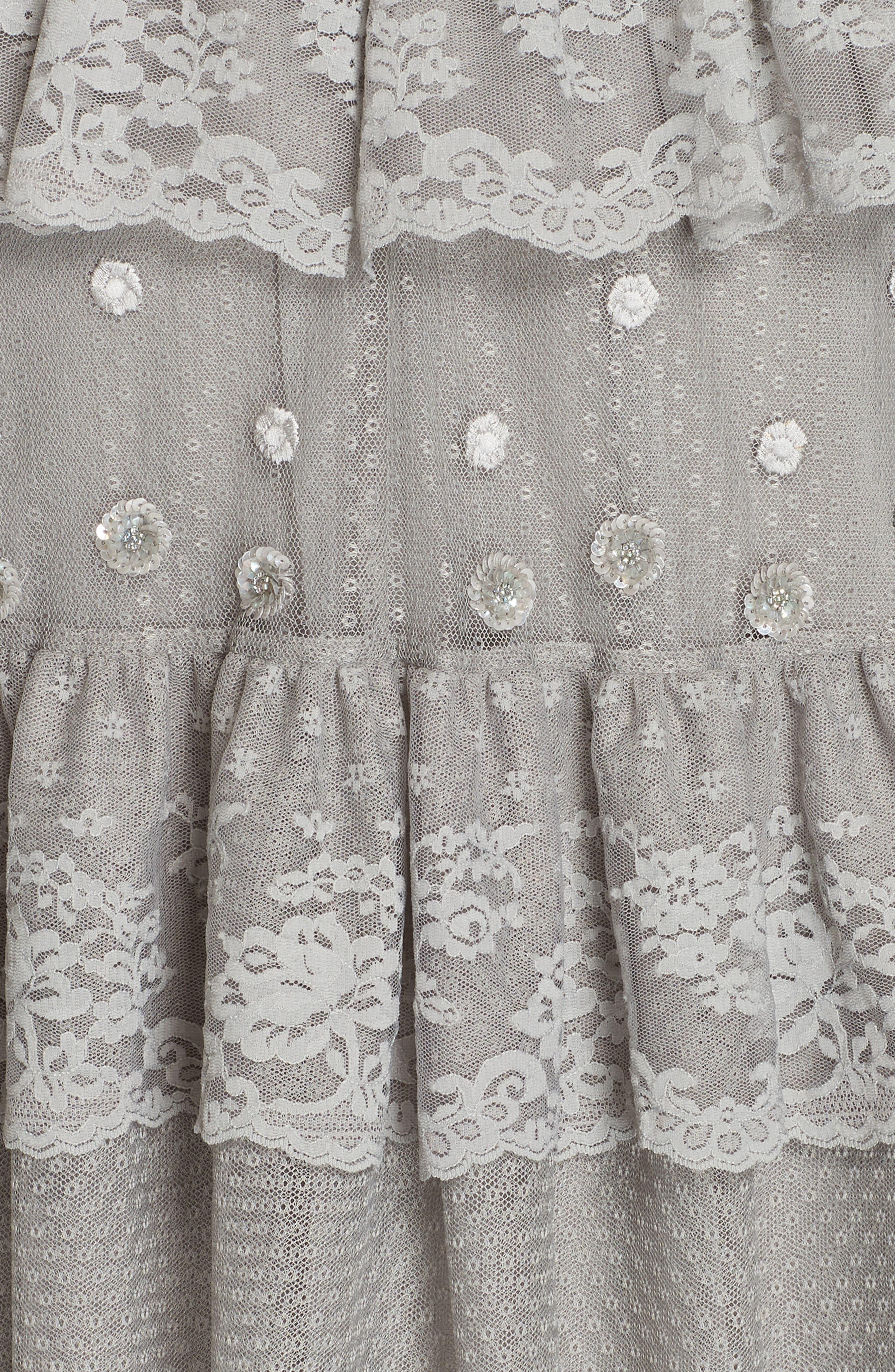 Cinderella Cami Dress,                             Alternate thumbnail 5, color,                             ASH