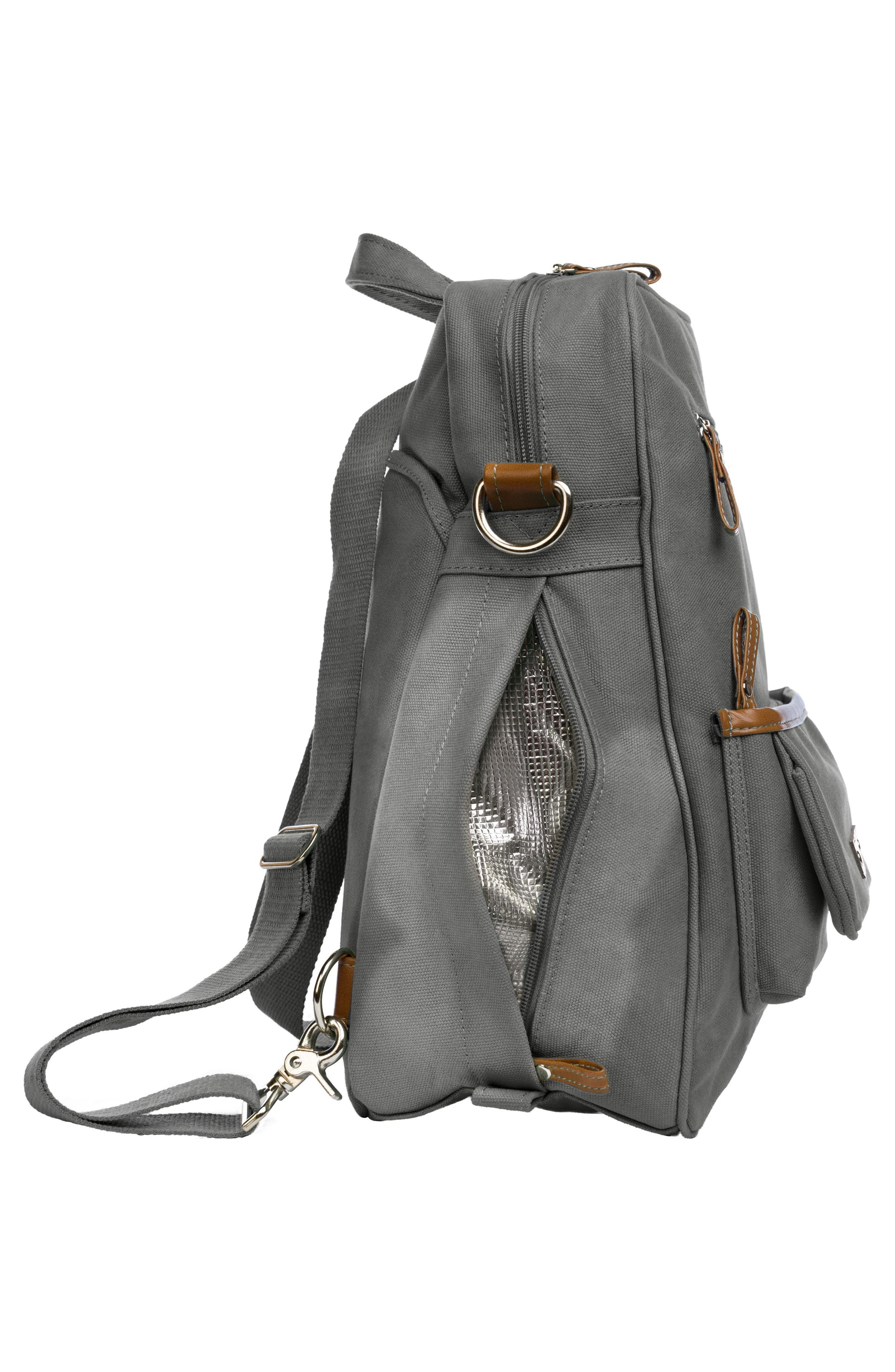 Monroe-On-the-Go Diaper Backpack,                             Alternate thumbnail 5, color,                             WINDY CITY