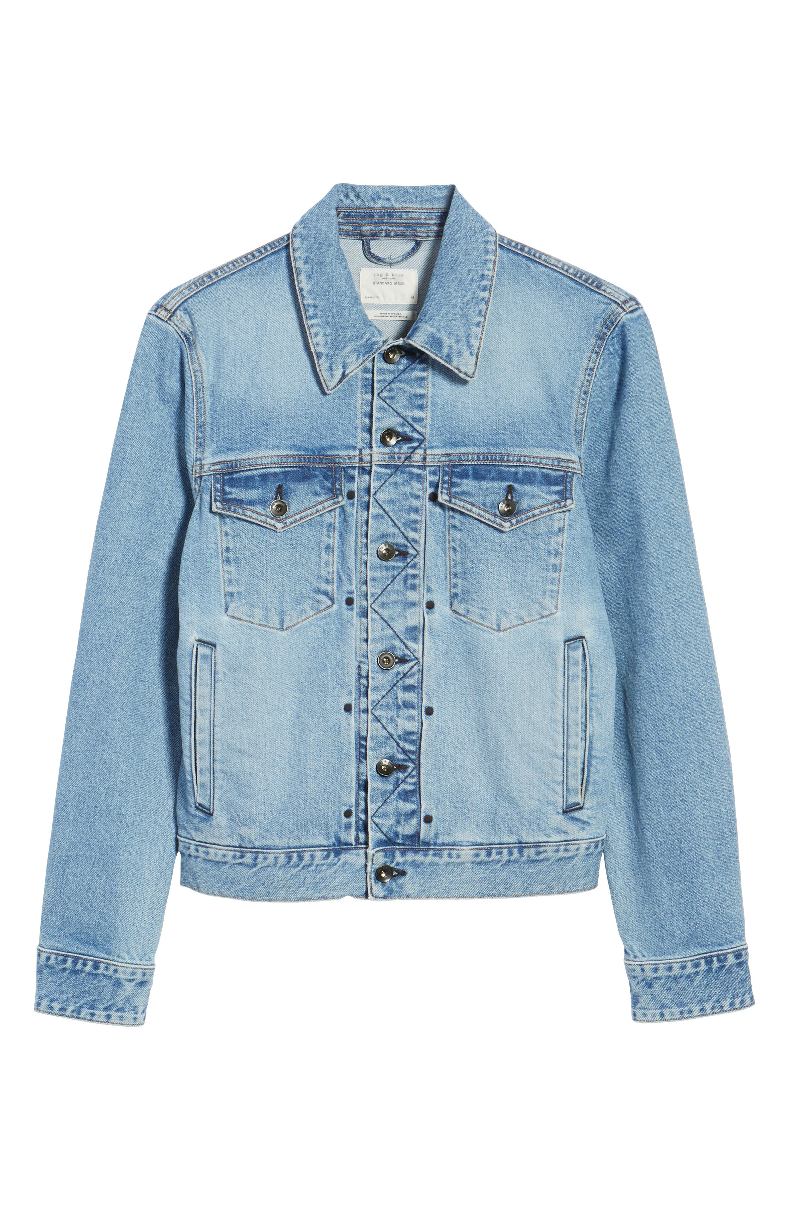 Jean Jacket,                             Alternate thumbnail 5, color,                             450