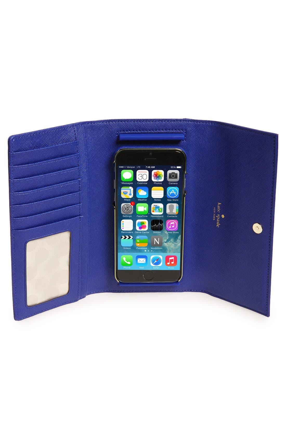 leather iPhone 7/8 & 7/8 Plus case,                             Alternate thumbnail 49, color,