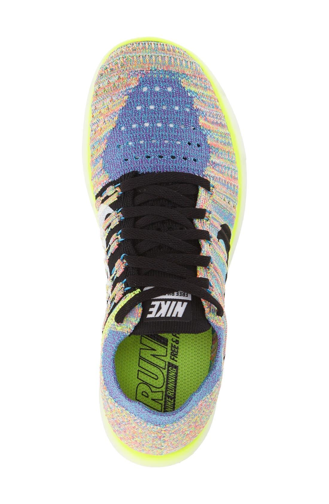 'Free Flyknit' Running Shoe,                             Alternate thumbnail 64, color,