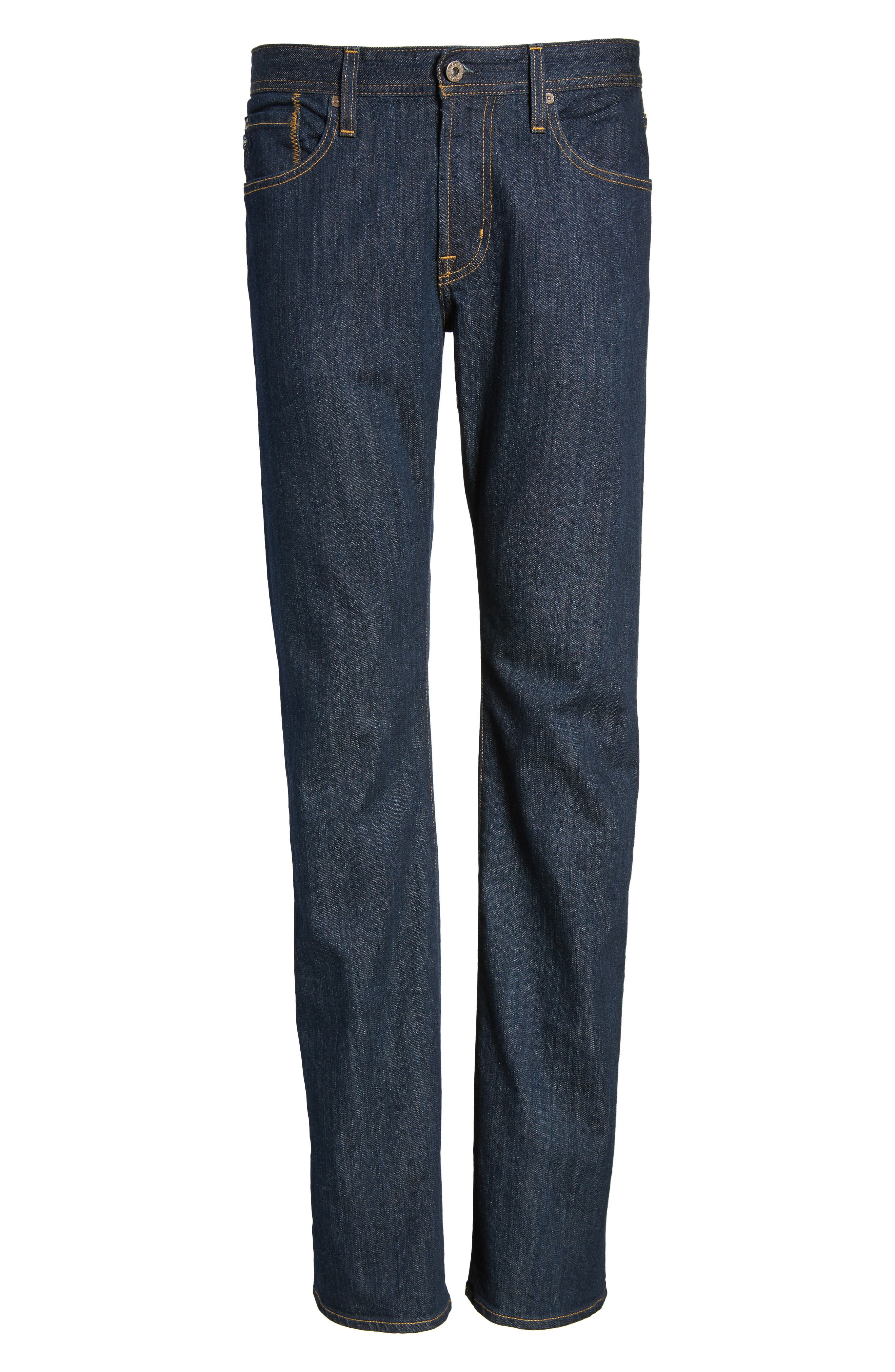 'Protégé' Straight Leg Jeans,                             Alternate thumbnail 6, color,                             016