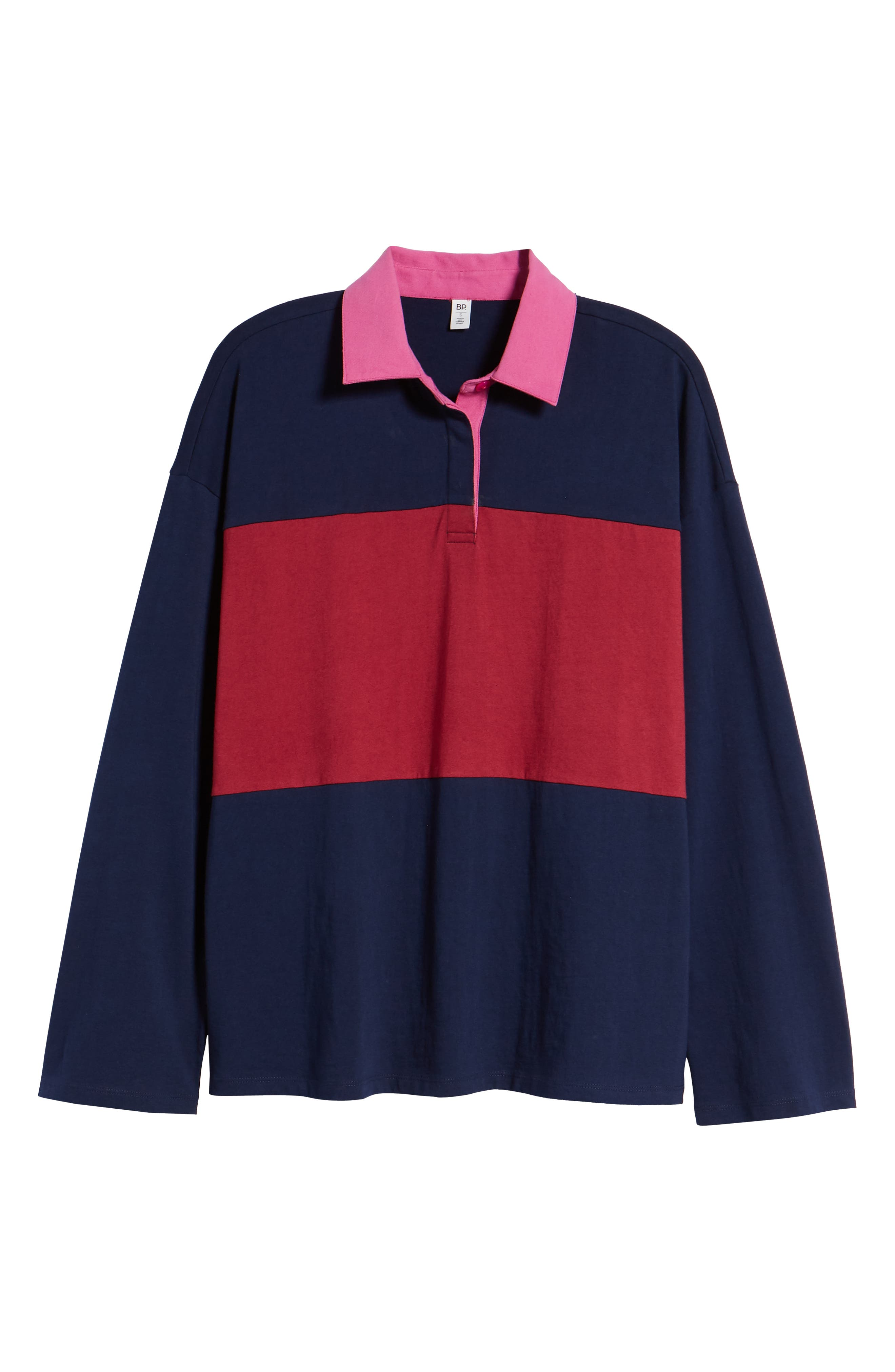 Rugby Polo,                             Alternate thumbnail 6, color,                             NAVY MARITIME