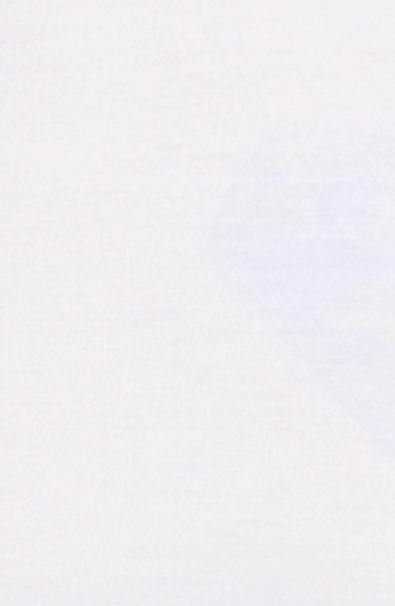 'U5551' Modal Blend Crewneck T-Shirt,                             Alternate thumbnail 4, color,                             WHITE