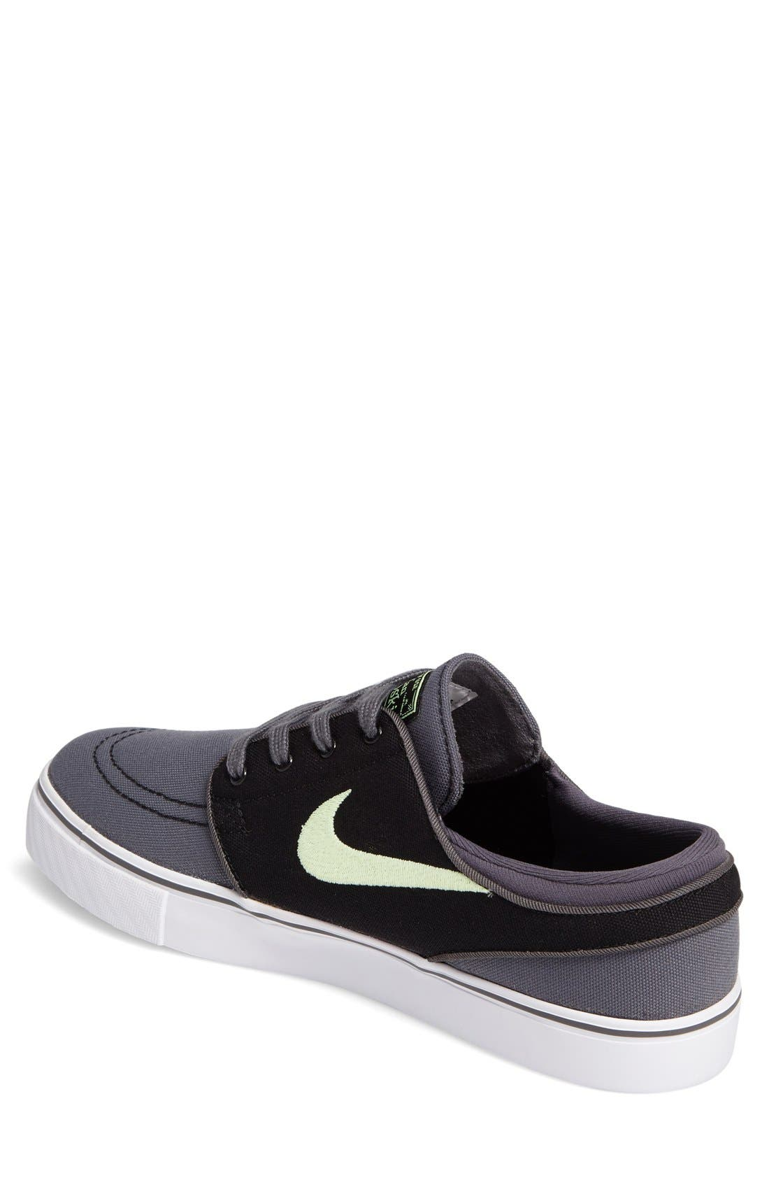 Zoom - Stefan Janoski SB Canvas Skate Shoe,                             Alternate thumbnail 196, color,