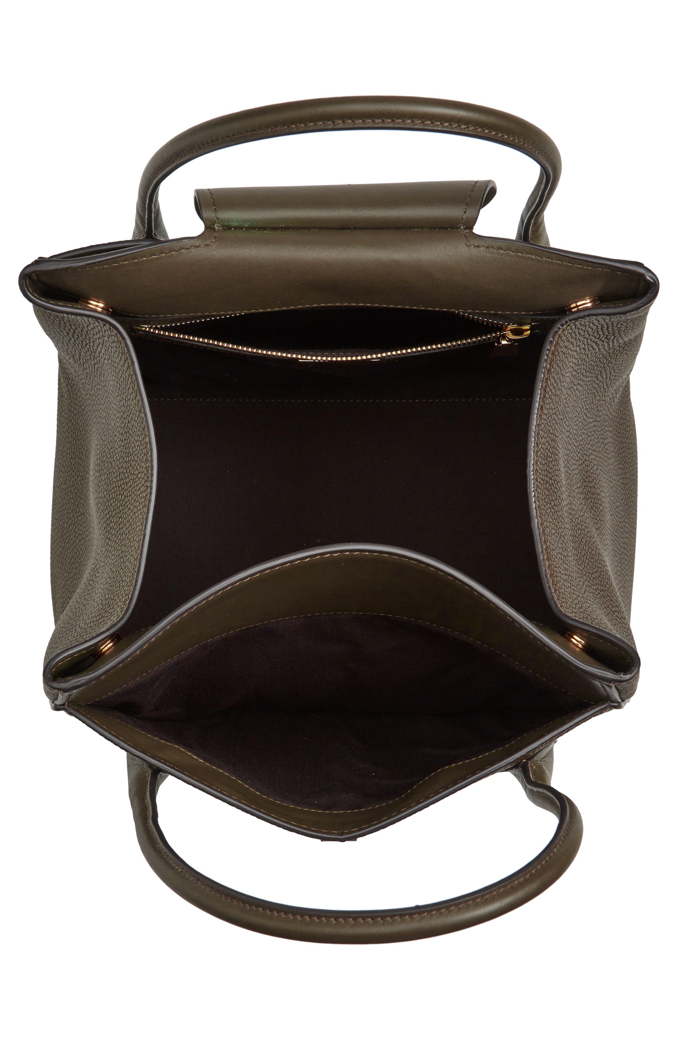 Large Bancroft Leather Top Handle Satchel,                             Alternate thumbnail 12, color,