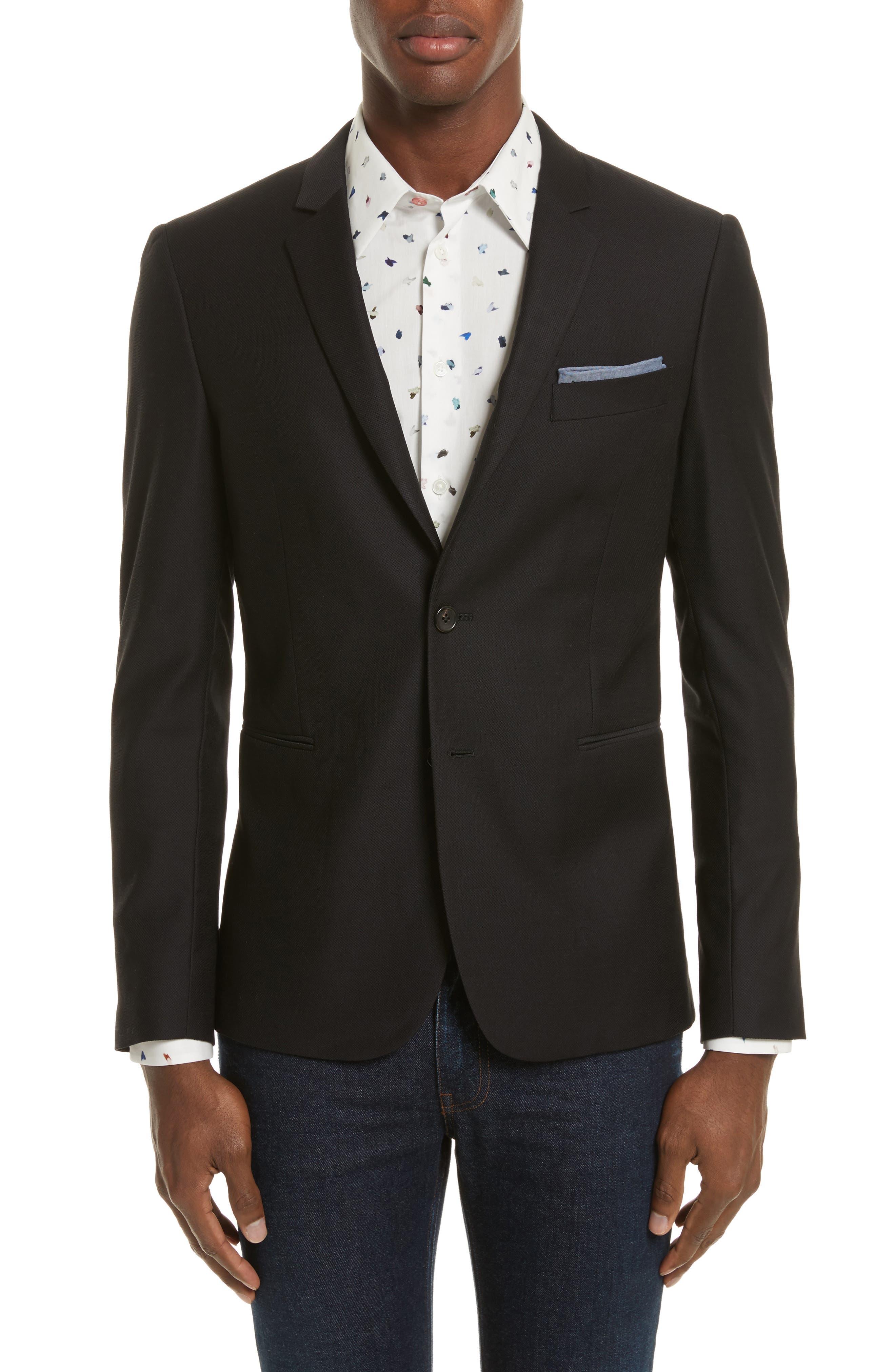 Slim Fit Sport Coat,                         Main,                         color, 001