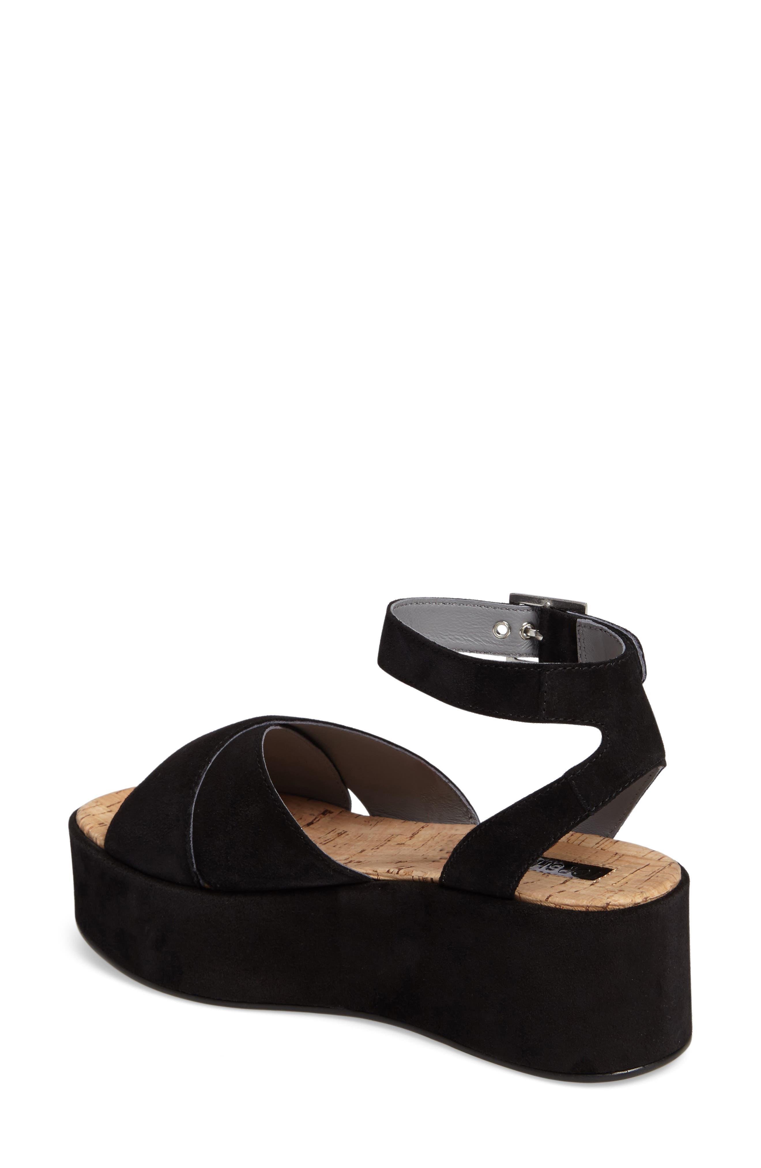Whisper Platform Sandal,                             Alternate thumbnail 2, color,                             001