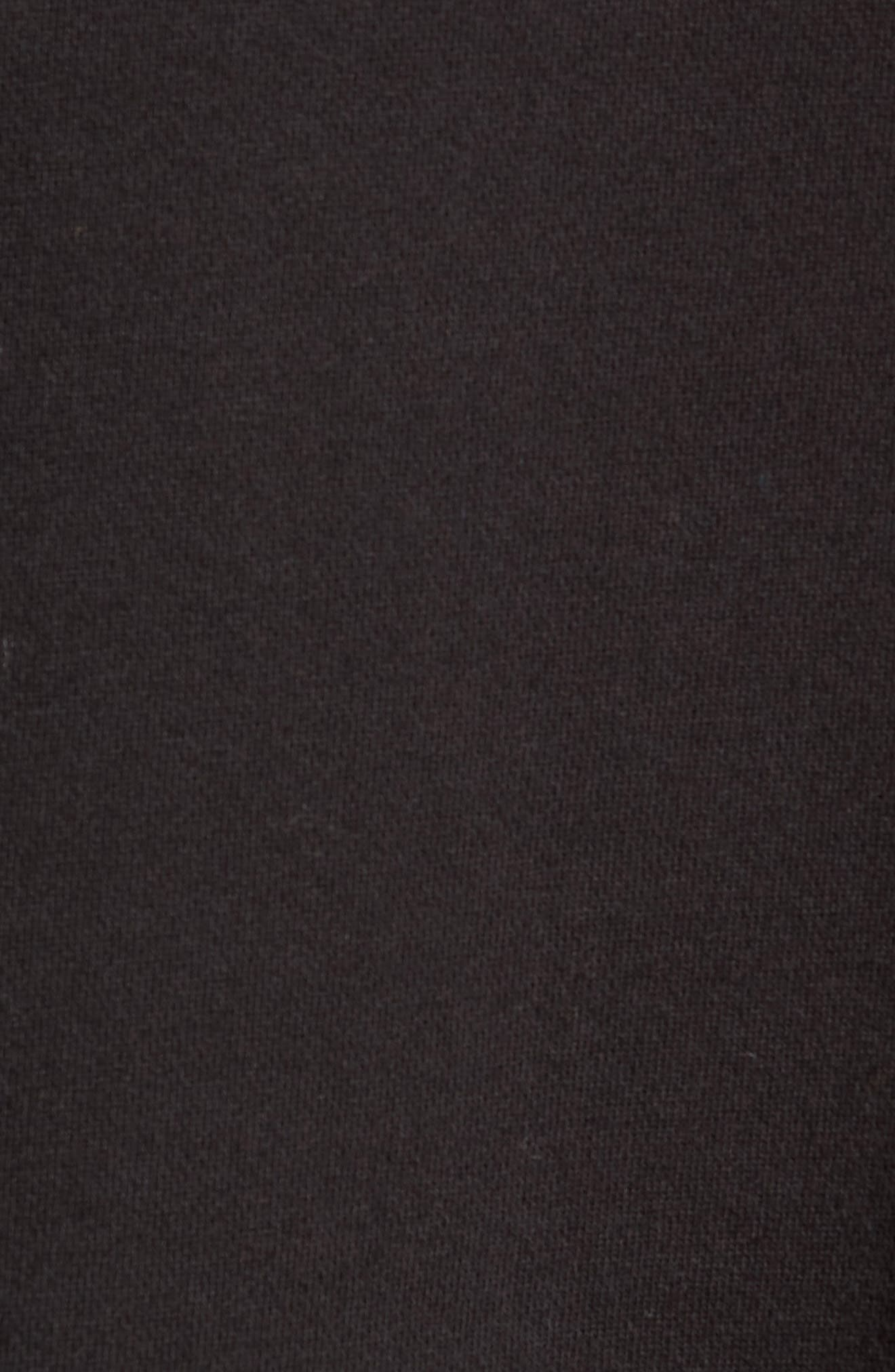 + Champion Turtleneck Sweatshirt,                             Alternate thumbnail 5, color,                             001
