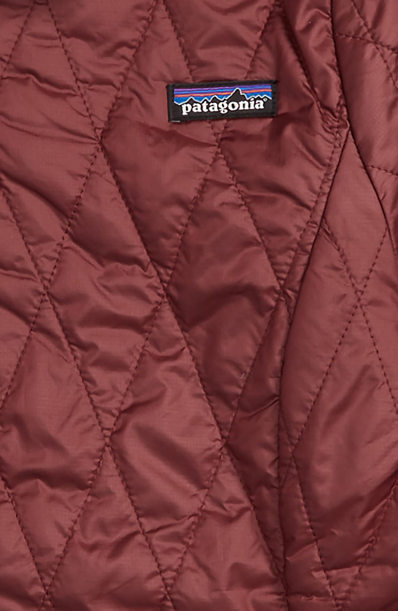 Nano Puff<sup>®</sup> Quilted Water Resistant Jacket,                             Alternate thumbnail 2, color,                             DARK CURRANT