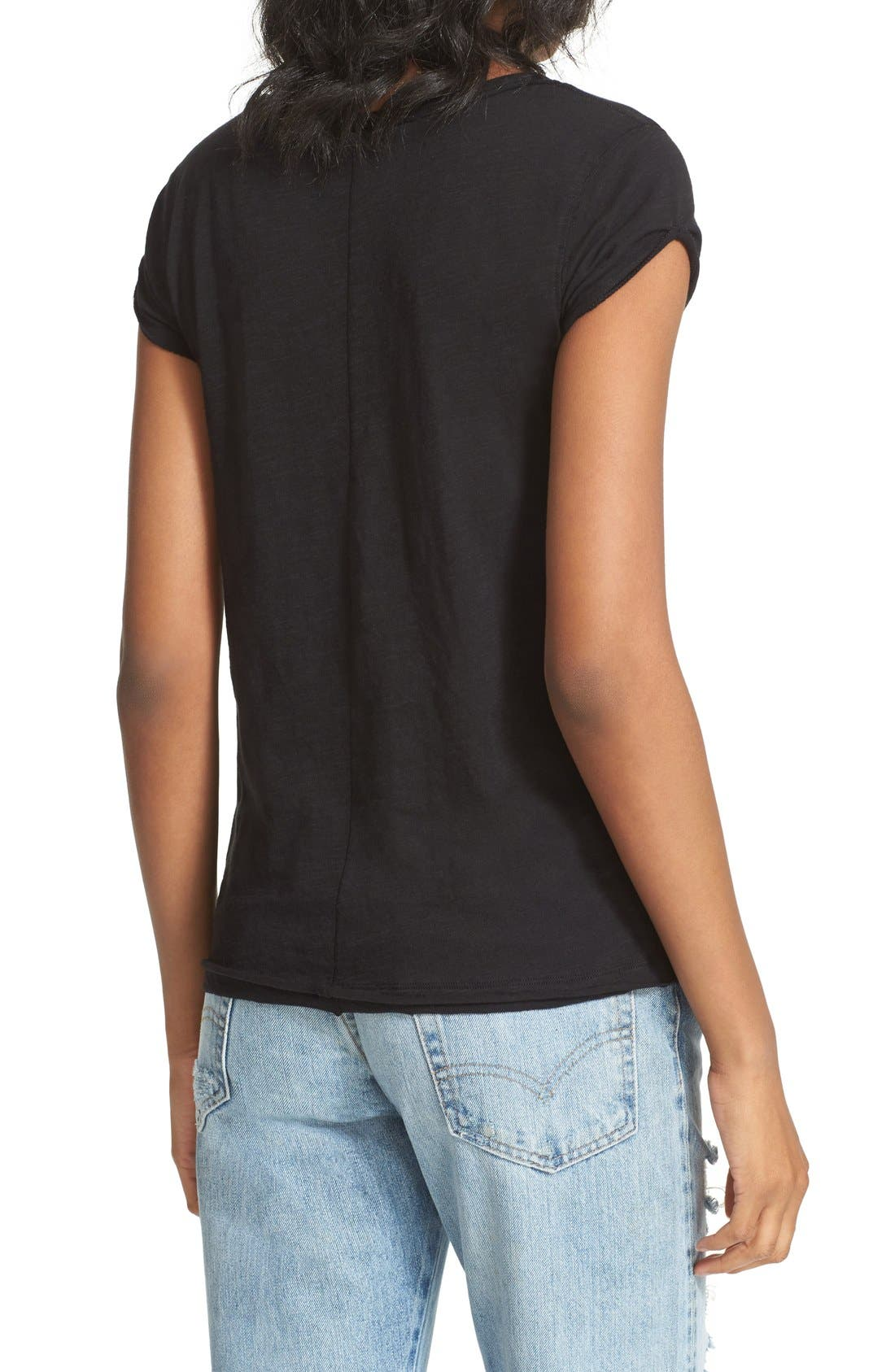 We the Free by Free People Tee,                             Alternate thumbnail 4, color,                             BLACK