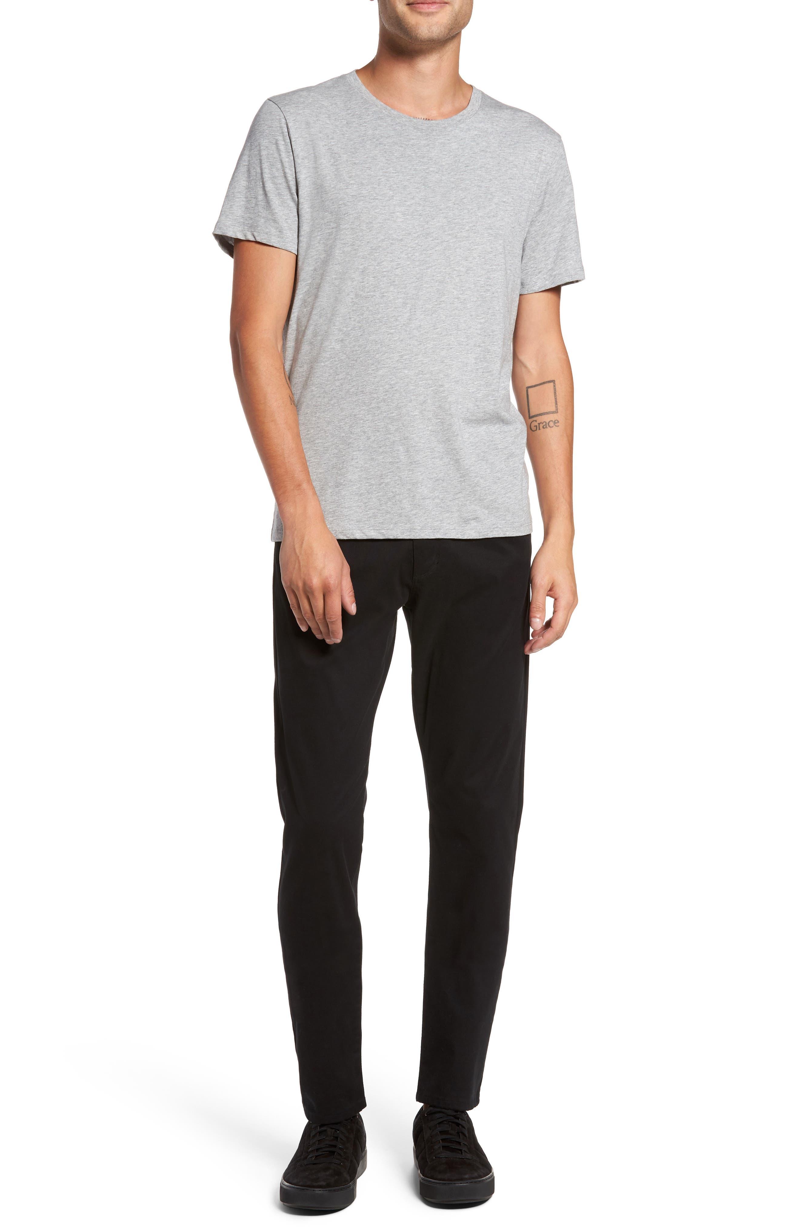Regular Fit Crewneck T-Shirt,                             Alternate thumbnail 7, color,                             095