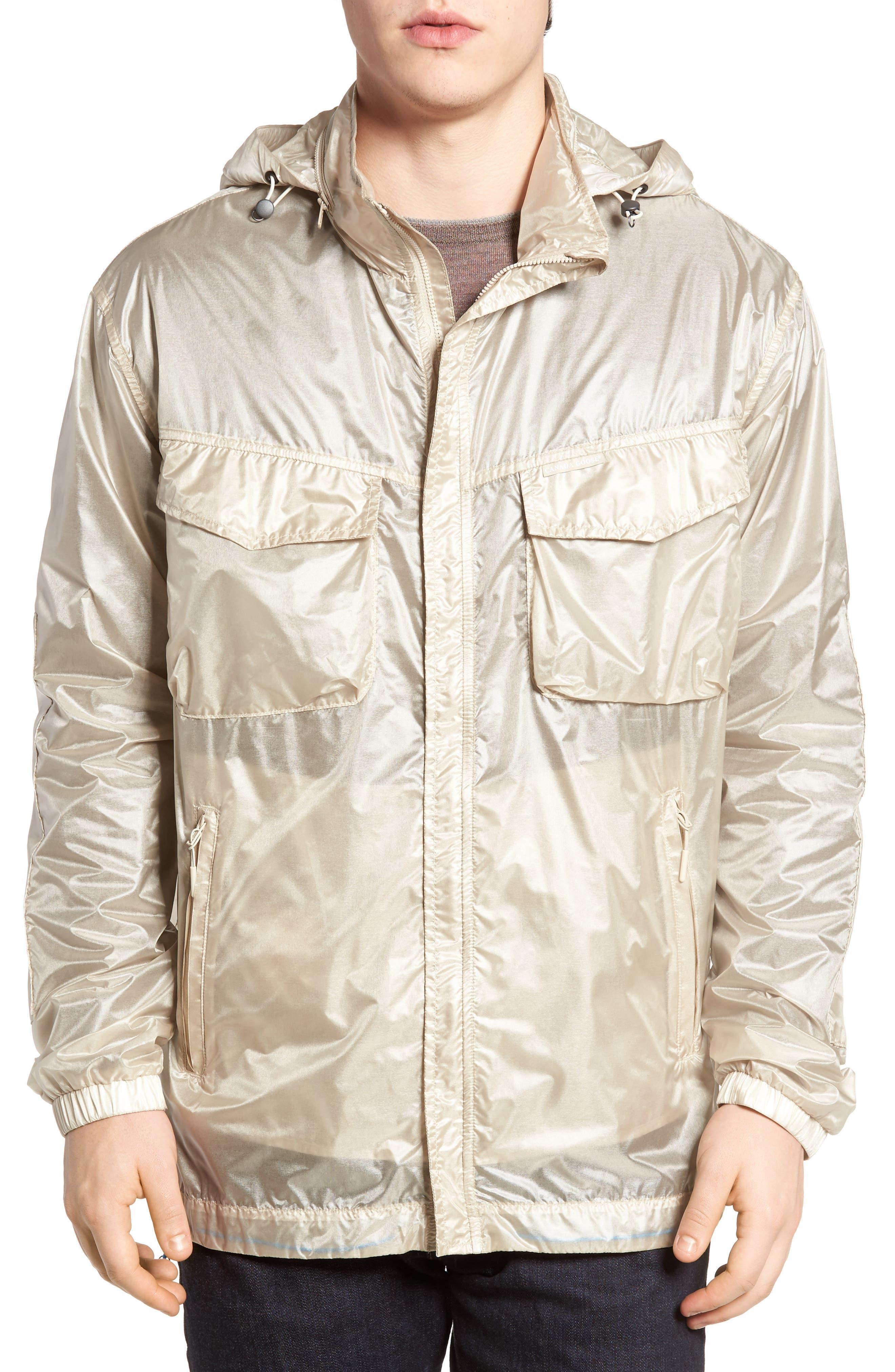 McKinnon Slim Fit Wind Jacket,                         Main,                         color, SANDBANK