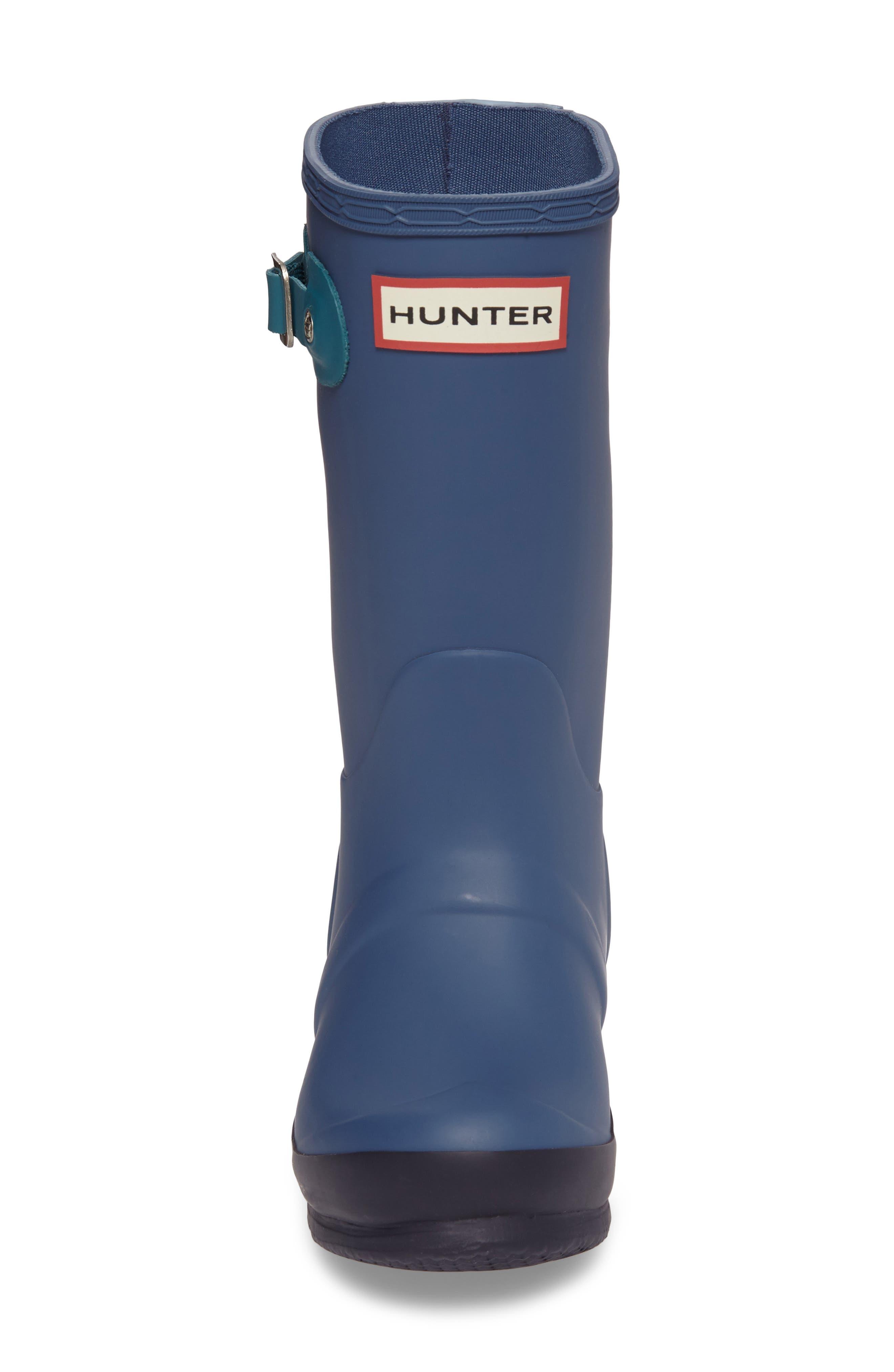 'Original Contrast Sole' Waterproof Rain Boot,                             Alternate thumbnail 4, color,                             400