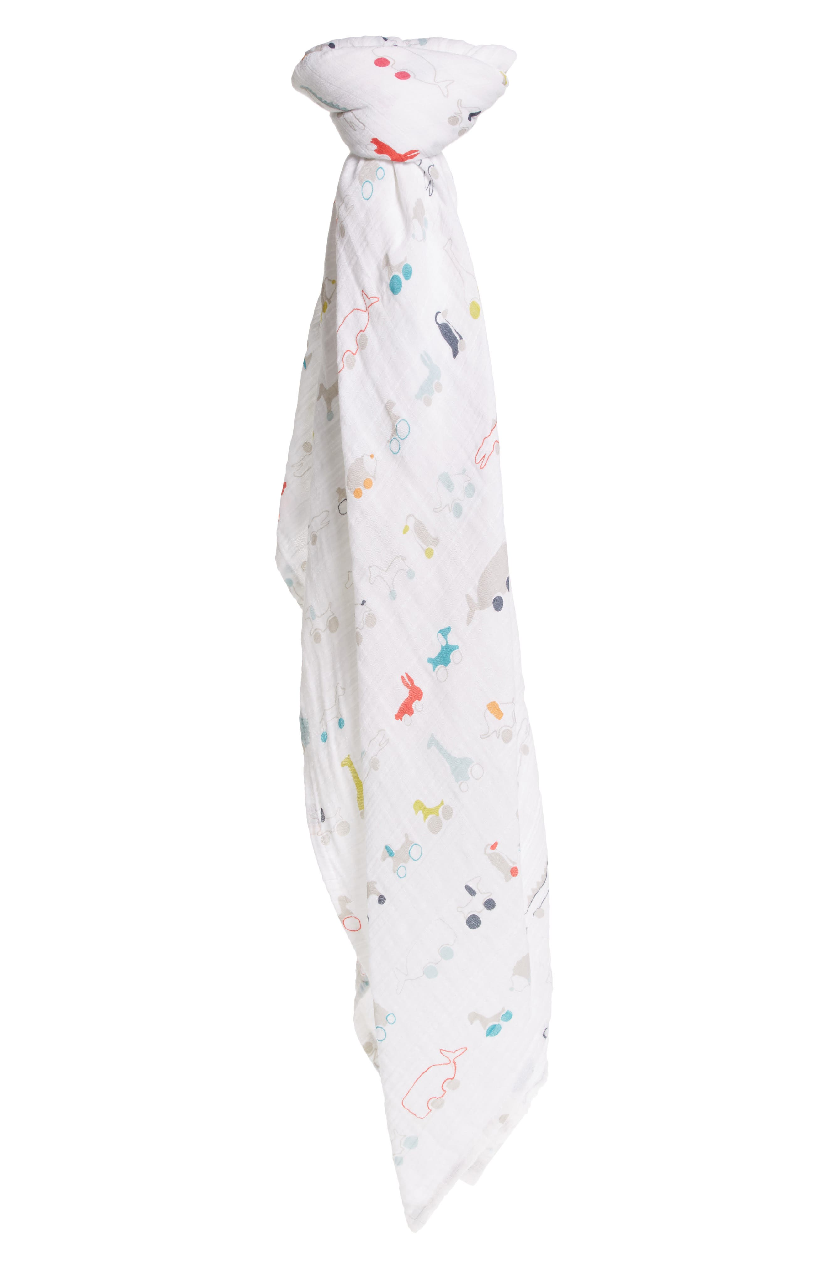 Pull Toys Swaddle Blanket,                         Main,                         color, MULTI