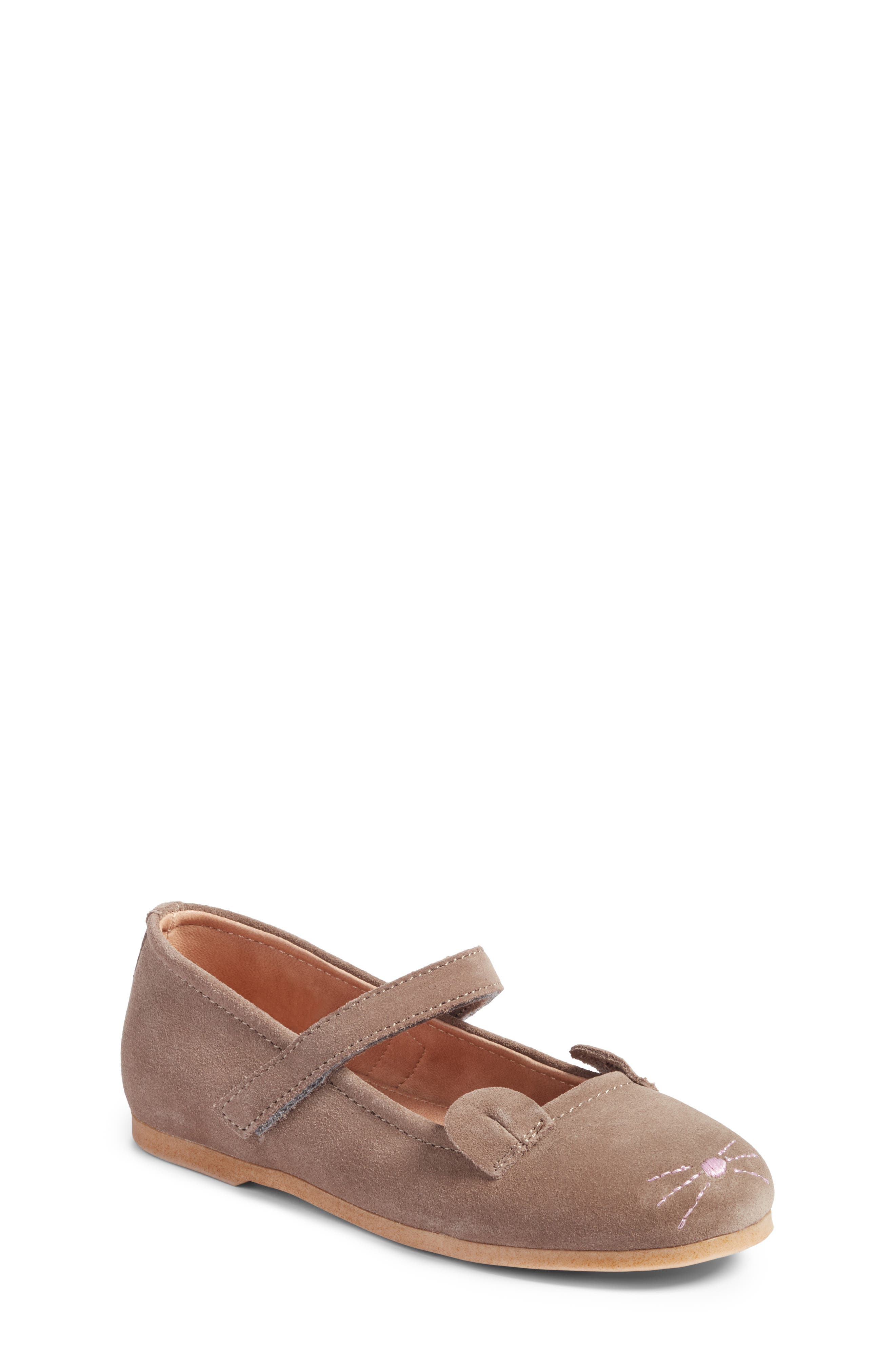 Mouse Mary Jane Flat,                         Main,                         color, 020