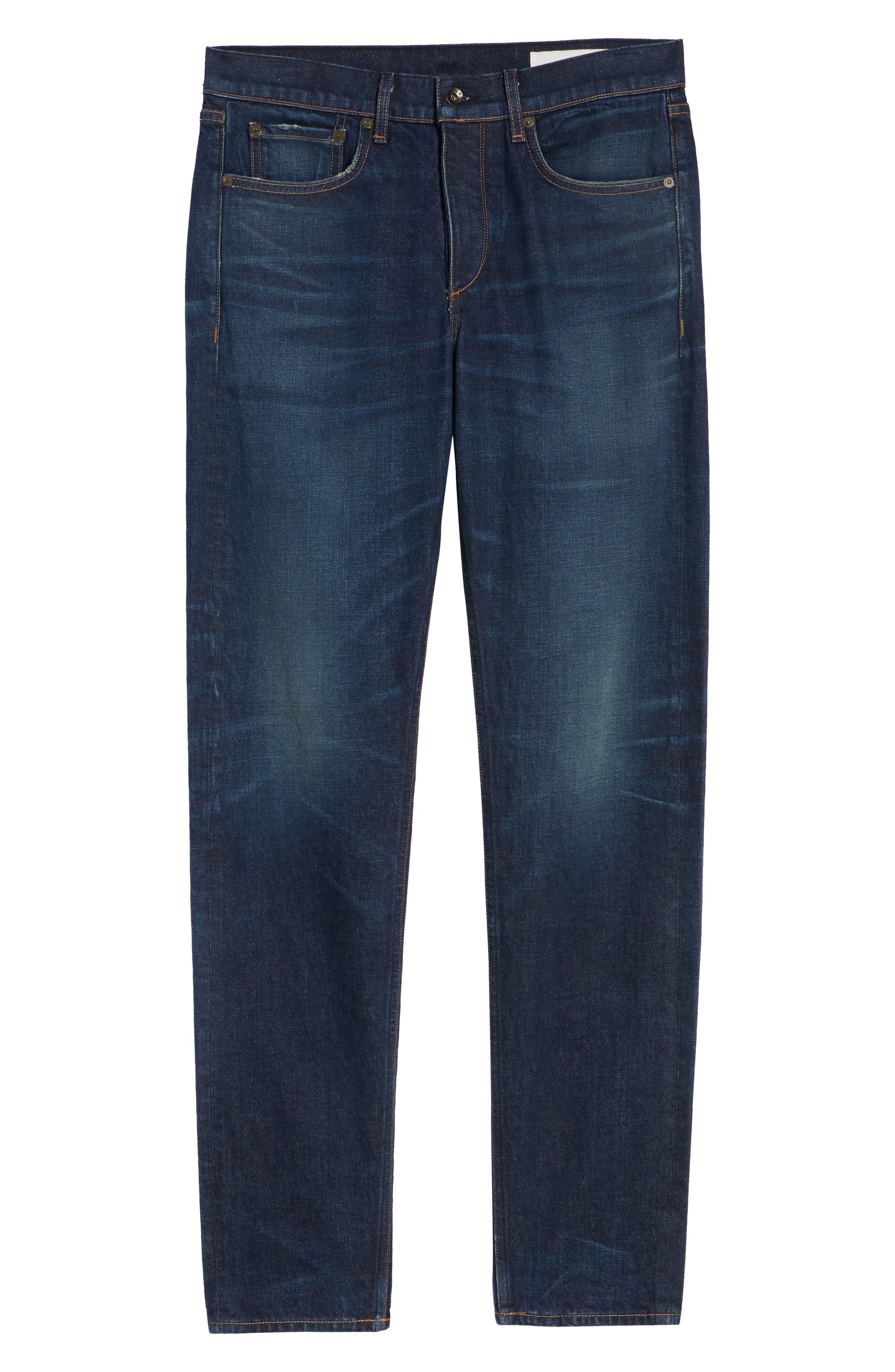 Fit 2 Slim Fit Jeans,                             Alternate thumbnail 6, color,                             WORN ACE