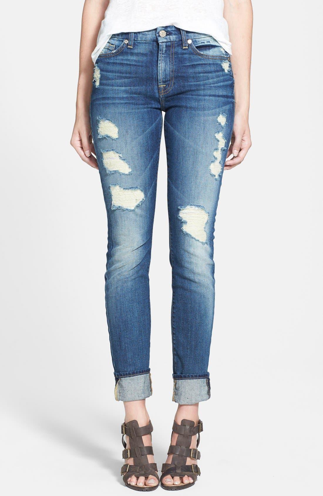 Skinny Jeans,                             Main thumbnail 1, color,                             400