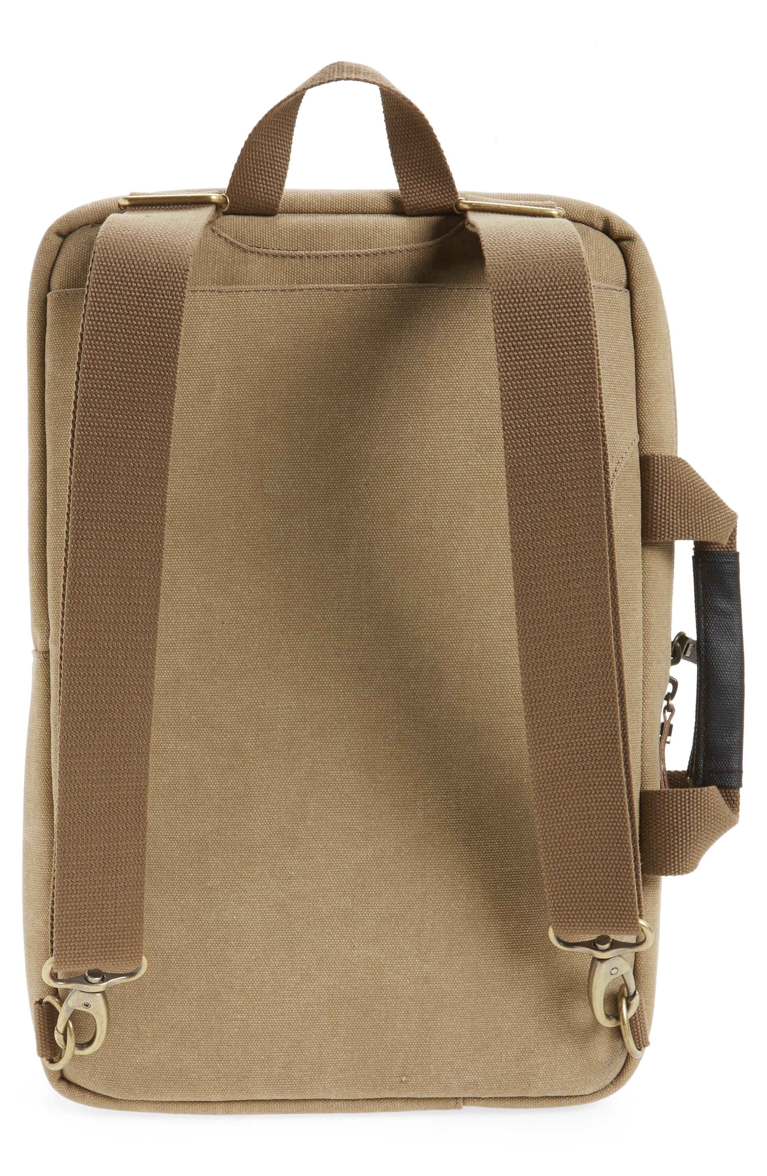 Radar Convertible Water Resistant Briefcase,                             Alternate thumbnail 16, color,