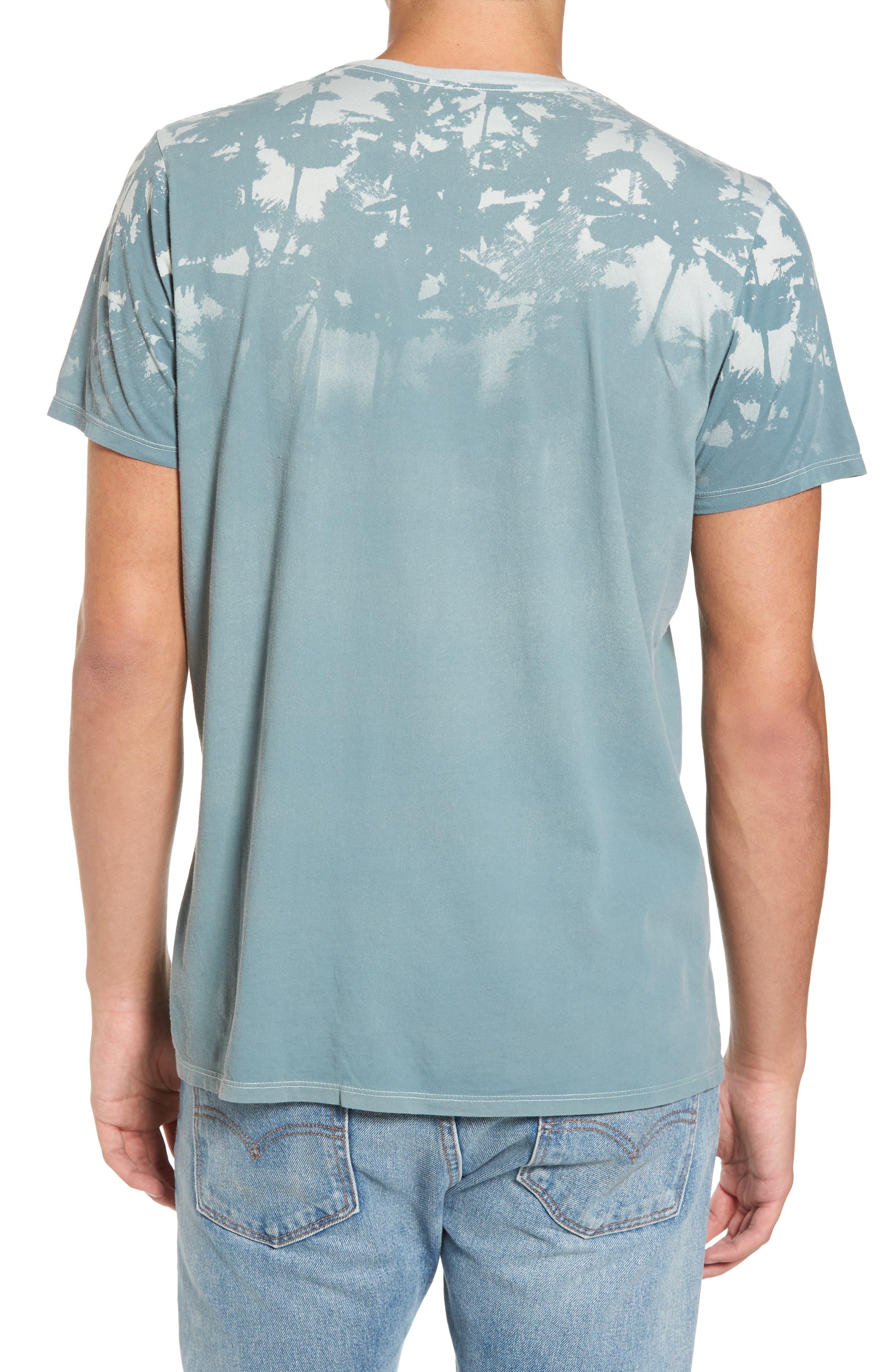 'Lost' Shadow Palm Print Crewneck T-Shirt,                             Alternate thumbnail 2, color,                             400