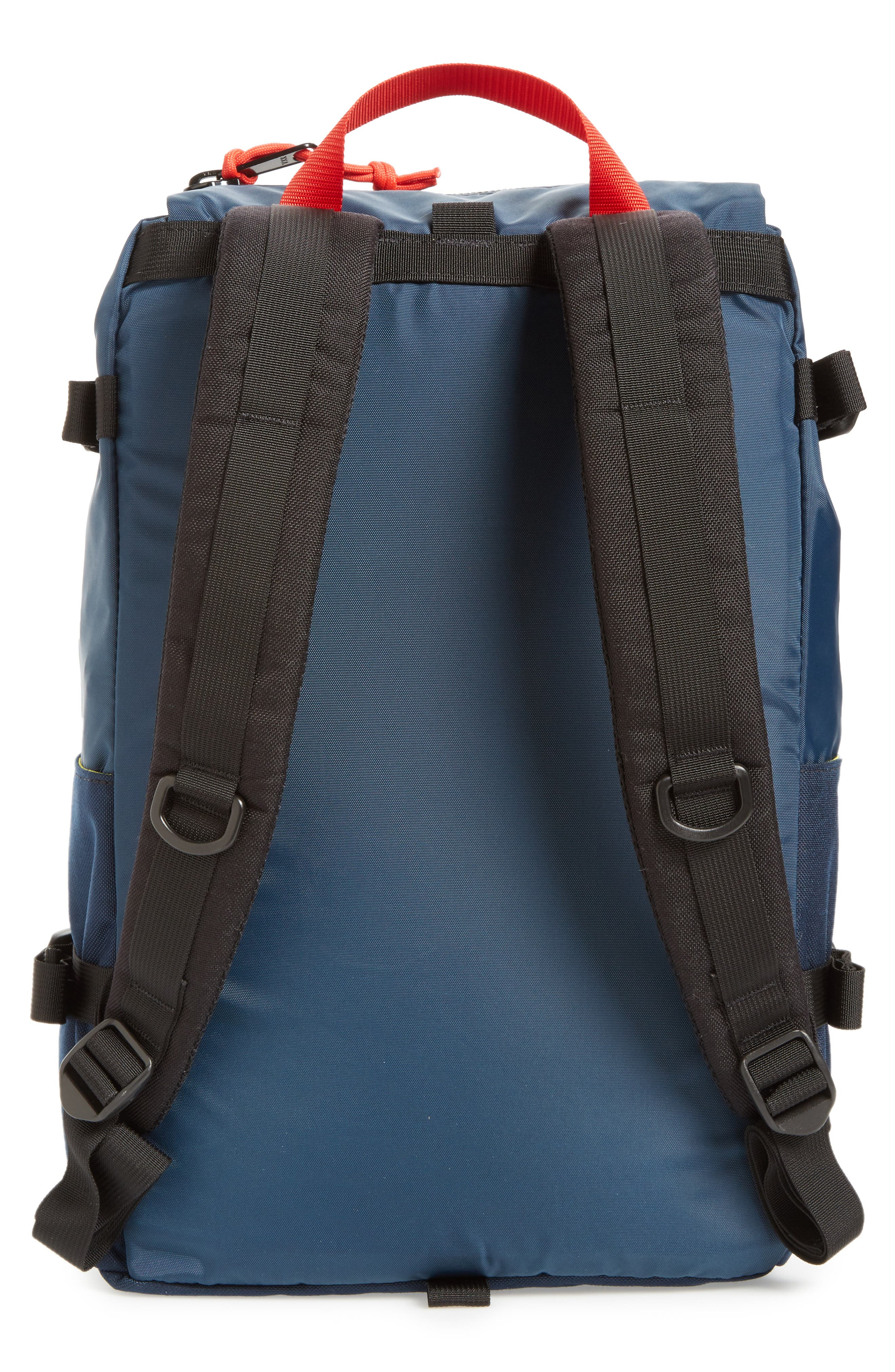 Rover Backpack,                             Alternate thumbnail 3, color,                             NAVY
