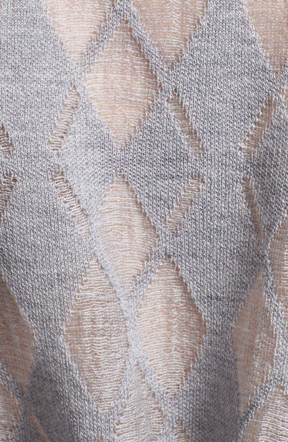 ALEXANDER WANG,                             Argyle Sweater,                             Alternate thumbnail 4, color,                             029