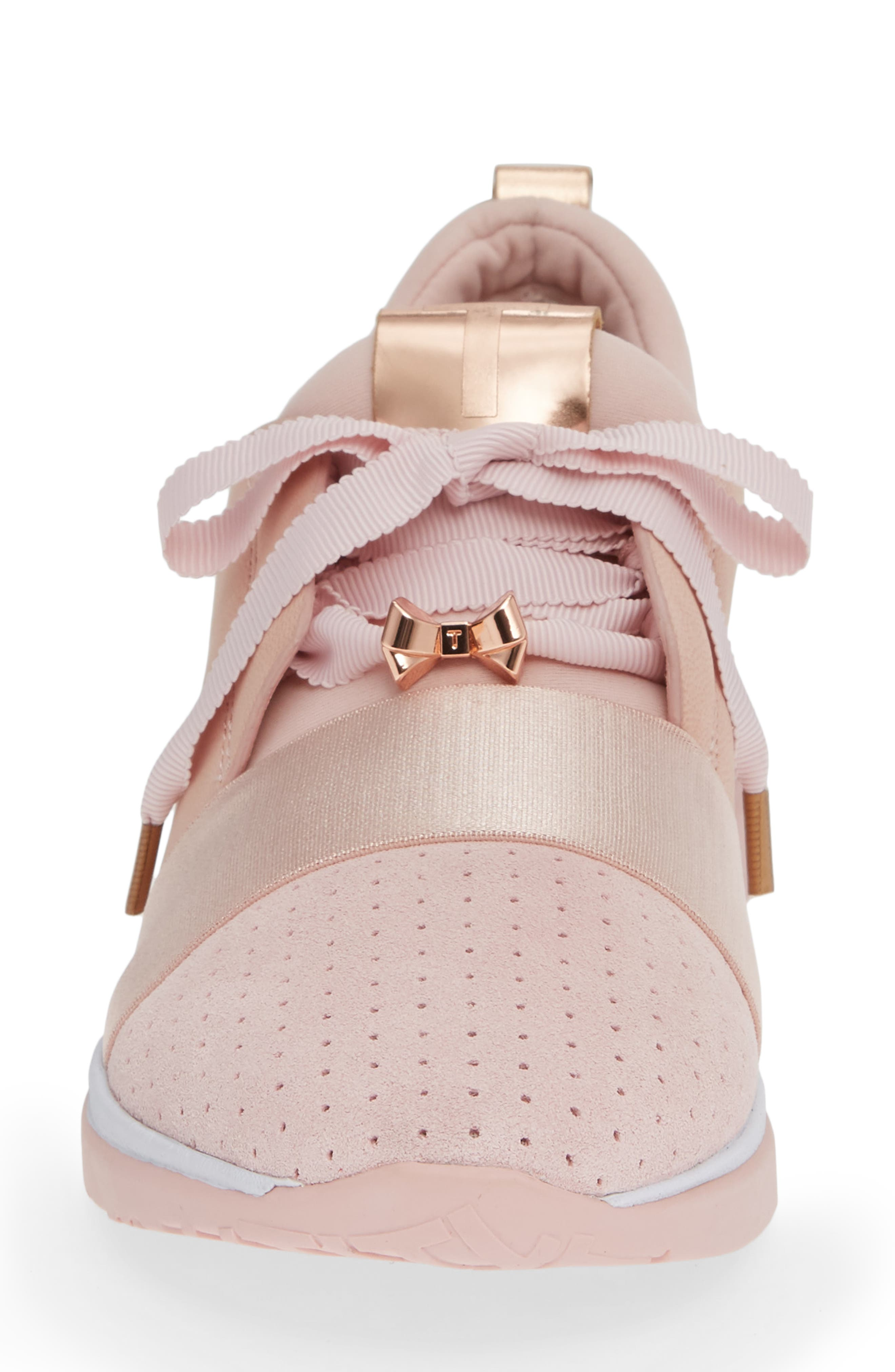 Cepap 2 Sneaker,                             Alternate thumbnail 4, color,                             MINK PINK FABRIC