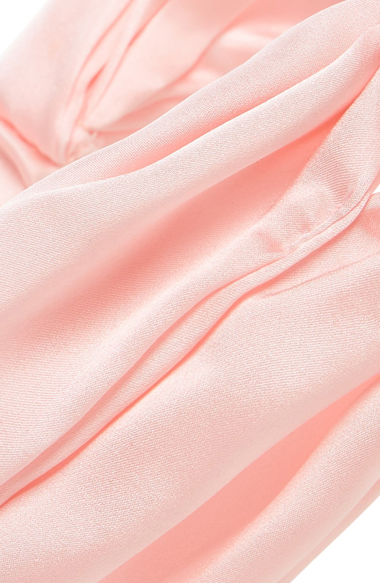 ChaCha Silk Turban Head Wrap,                             Alternate thumbnail 4, color,