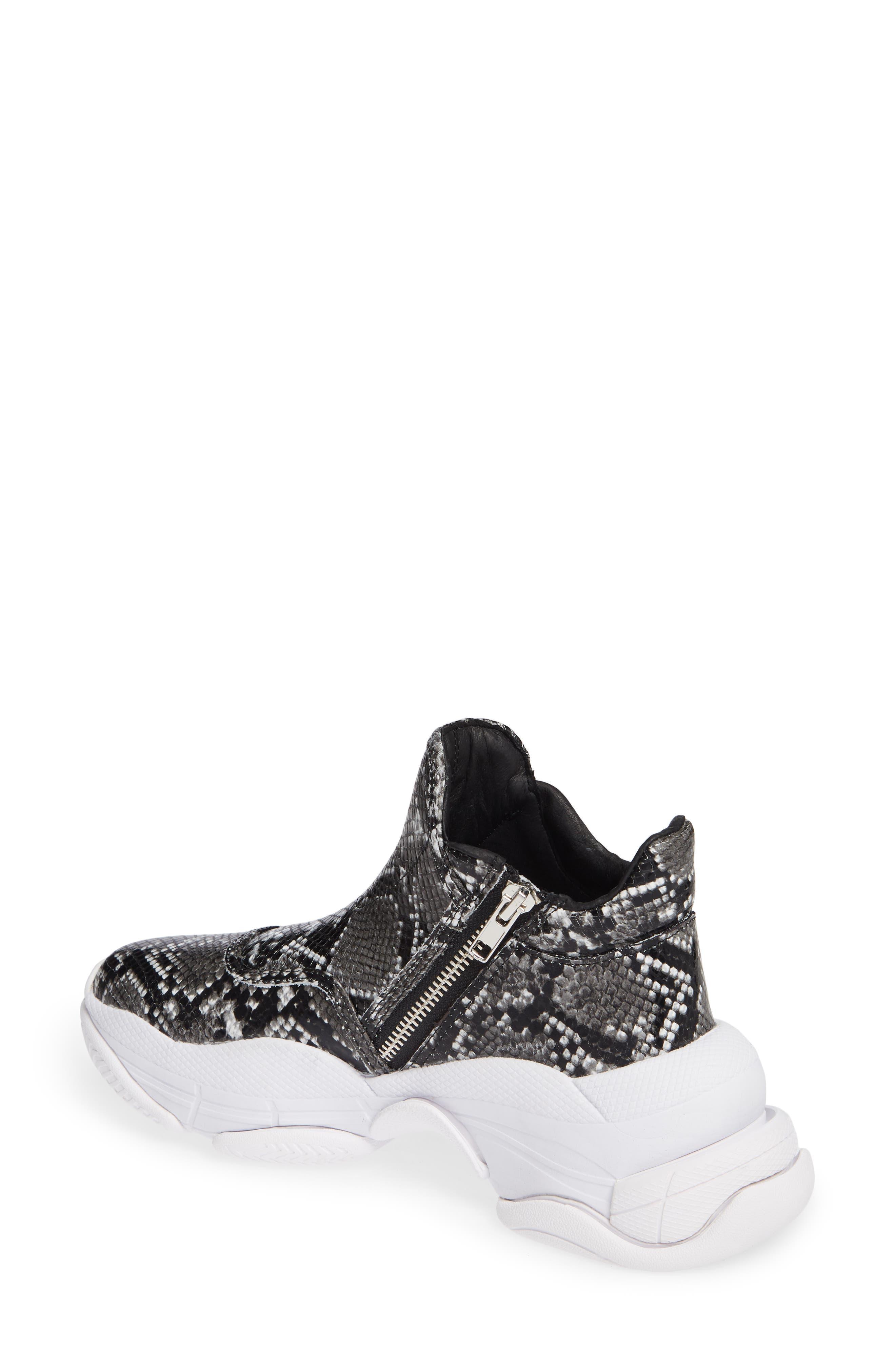 CTRL-DEL Sneaker,                             Alternate thumbnail 2, color,                             GREY BLACK SNAKE