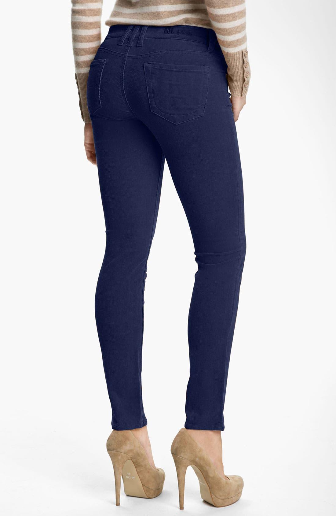 'Diana' Stretch Corduroy Skinny Pants,                             Alternate thumbnail 64, color,