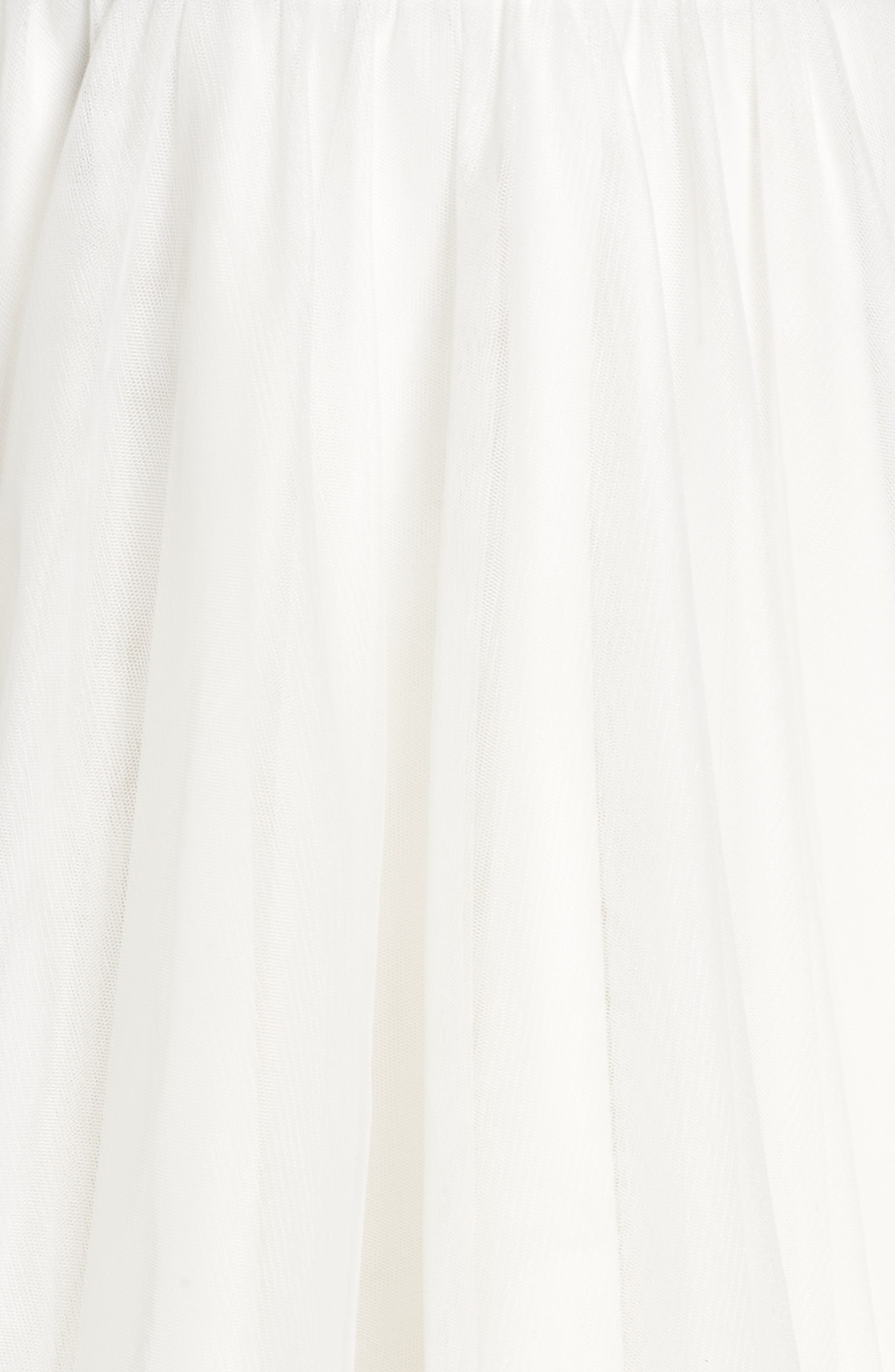 Embellished Back Halter Skater Dress,                             Alternate thumbnail 5, color,