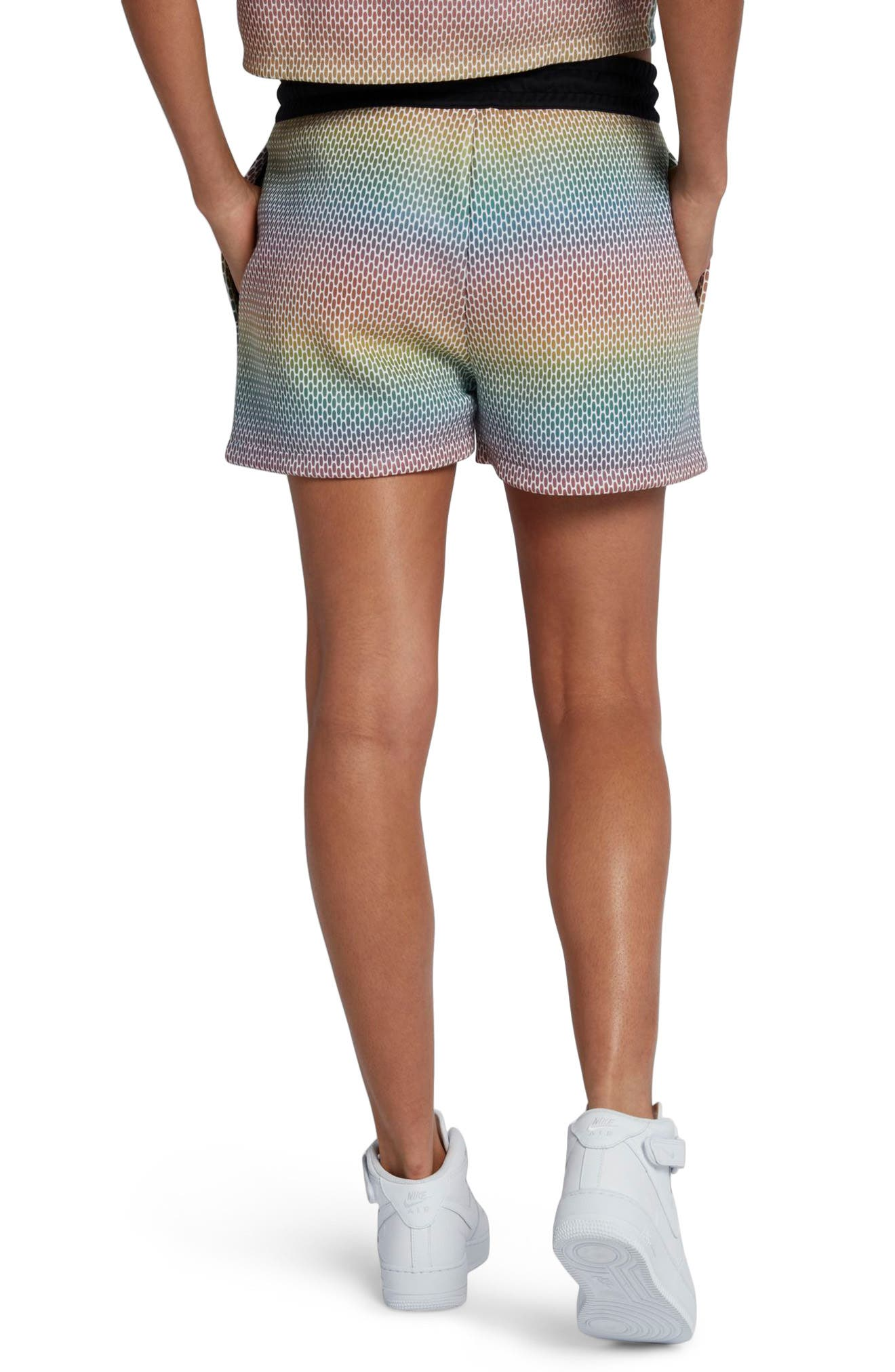 NikeLab Oil Slick Shorts,                             Alternate thumbnail 2, color,                             100