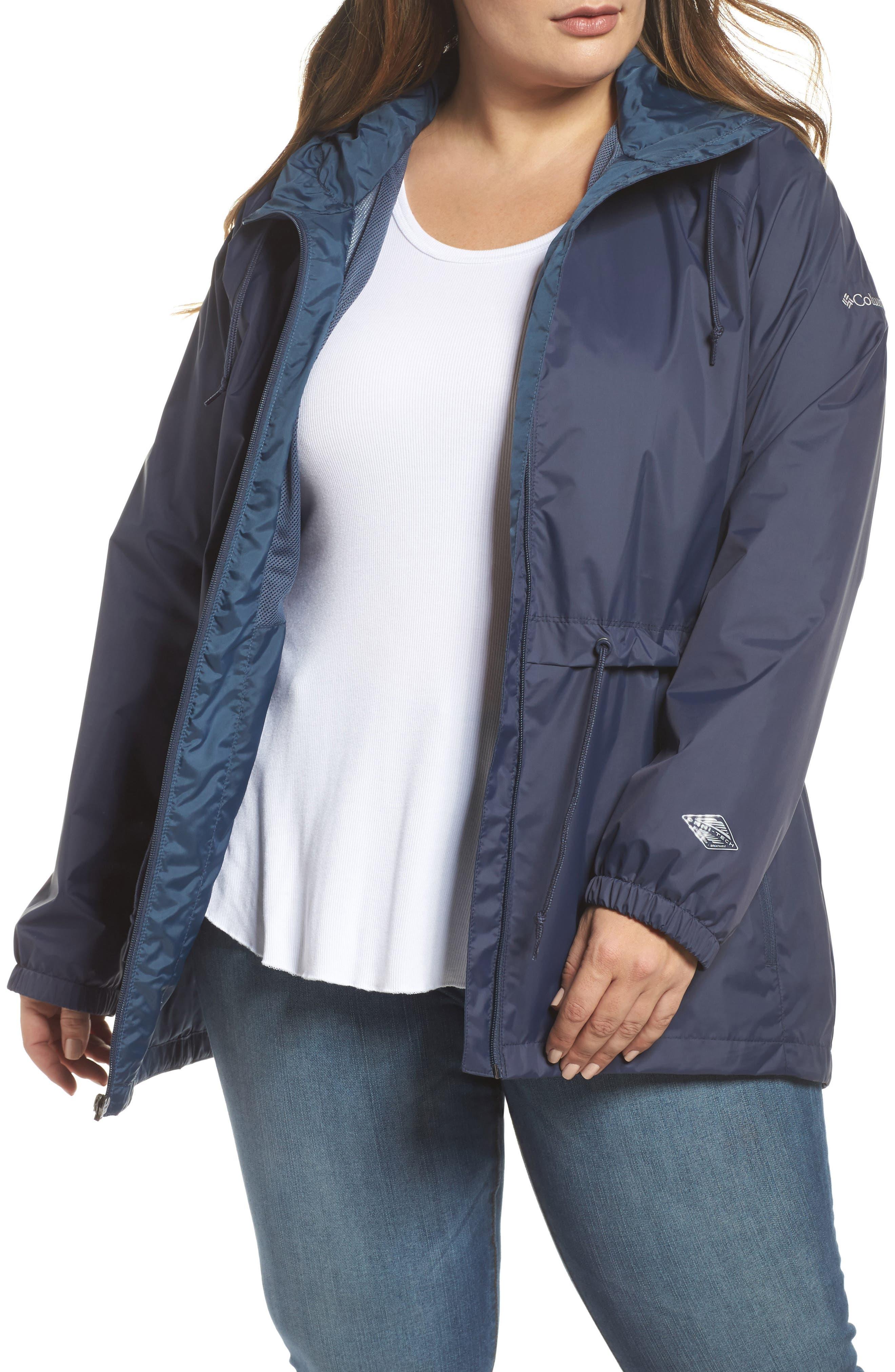 'Arcadia' Hooded Waterproof Casual Jacket,                             Main thumbnail 2, color,