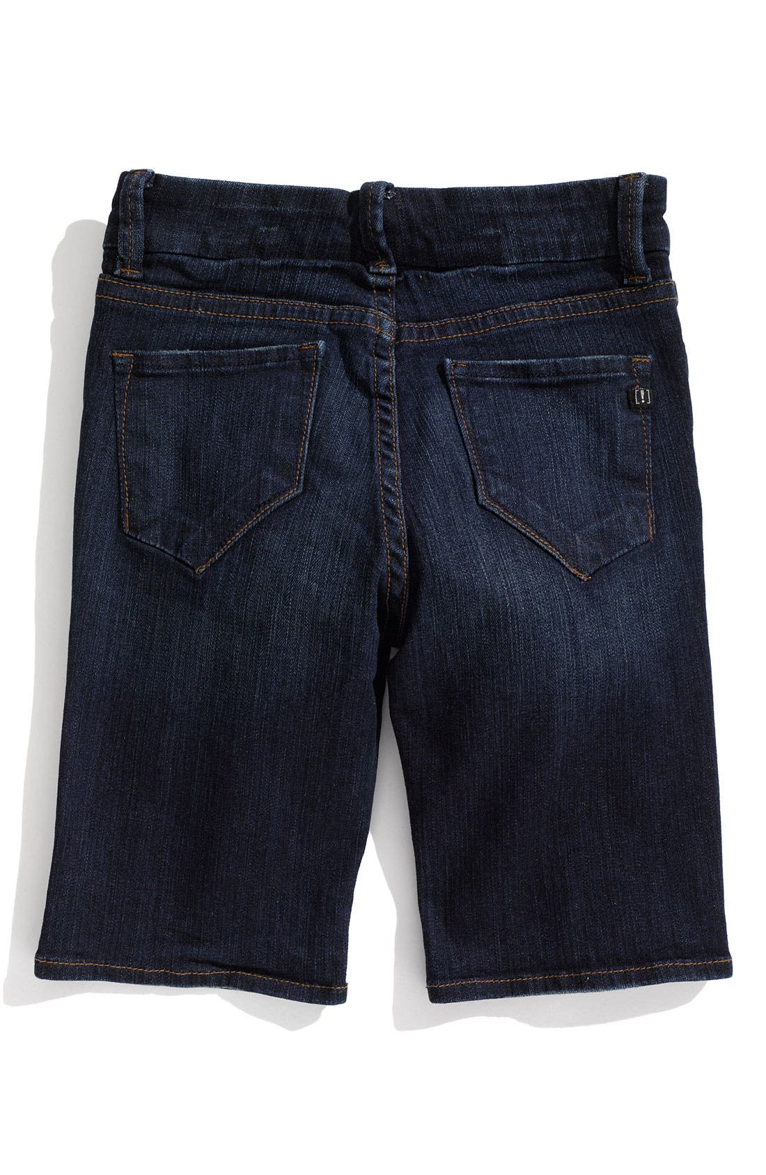 !IT COLLECTIVE,                             !iT JEANS 'Ultra Skinny' Denim Bike Shorts,                             Main thumbnail 1, color,                             460