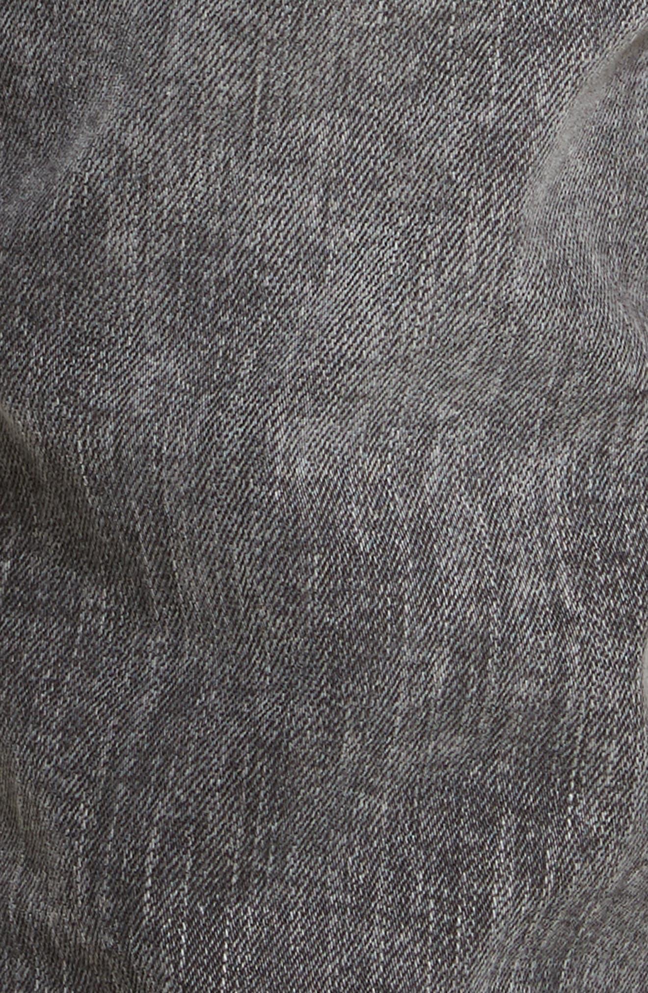 Destroyed Moto Jeans,                             Alternate thumbnail 5, color,                             001