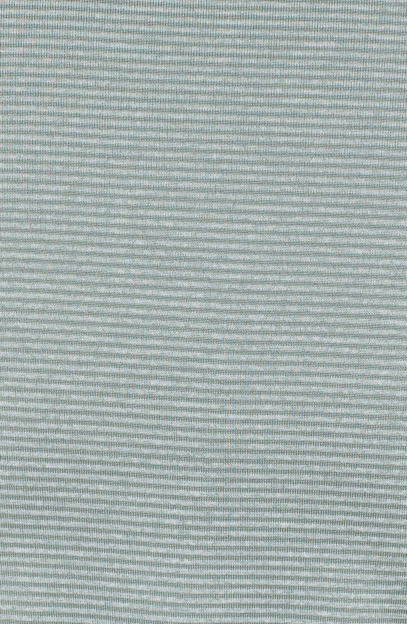 Dry Polo Shirt,                             Alternate thumbnail 5, color,                             CLAY GREEN/ BLACK