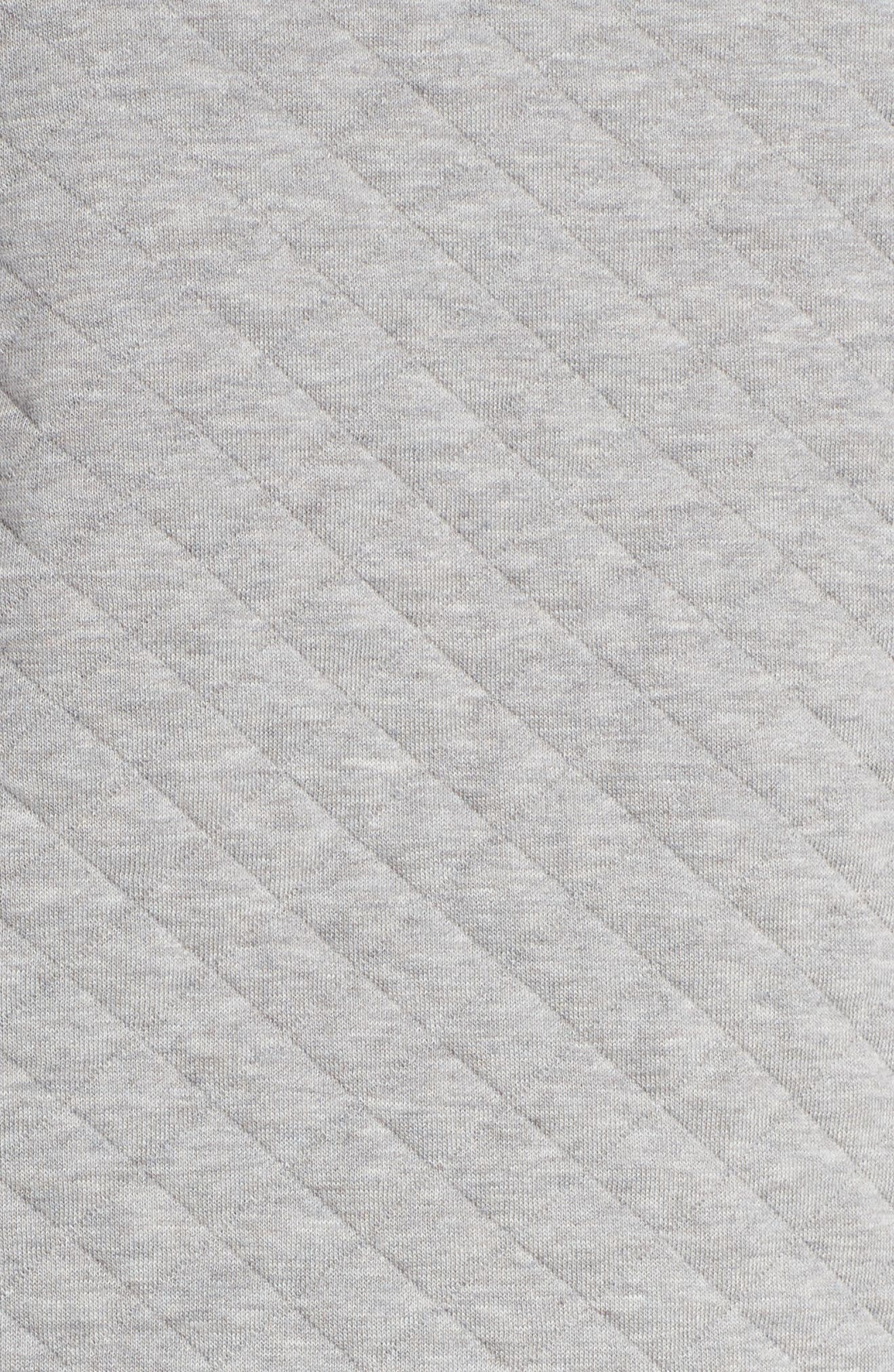 Snap-T<sup>®</sup> Quilted Pullover,                             Alternate thumbnail 6, color,                             DRIFT GREY