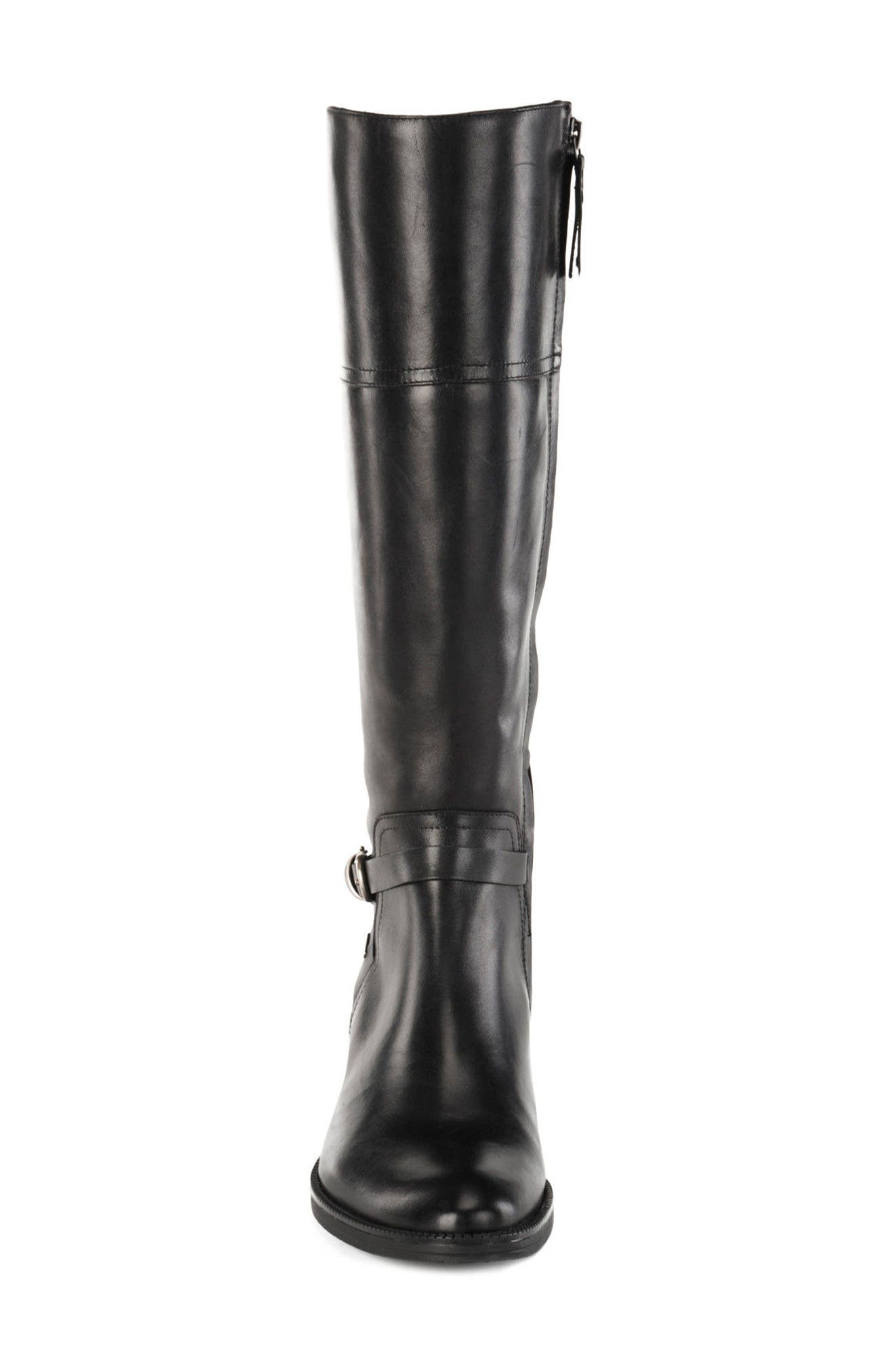 Mendin ABX Waterproof Riding Boot,                             Alternate thumbnail 4, color,                             001