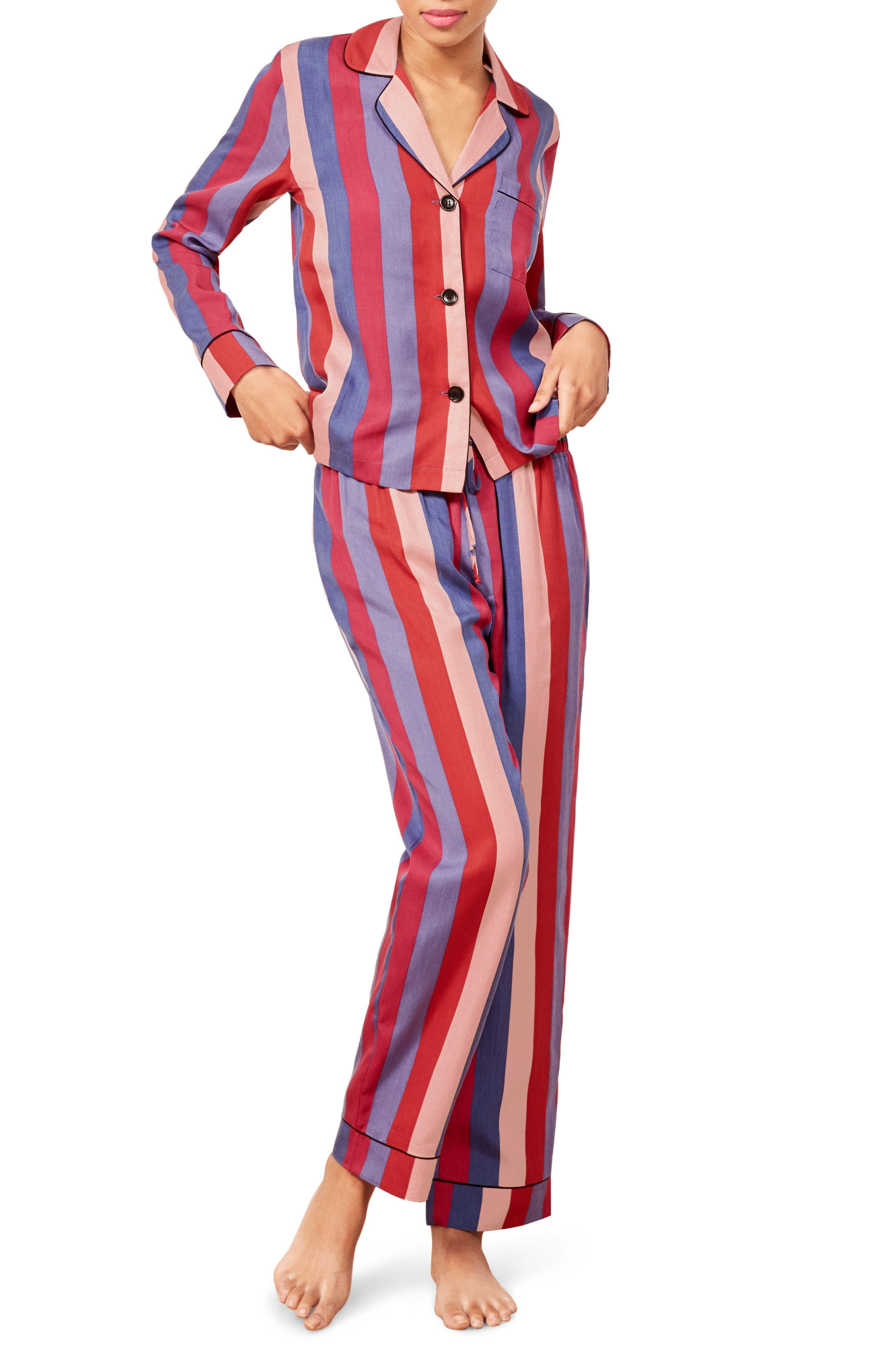 Stripe Pajamas,                         Main,                         color, DISCO STRIPE