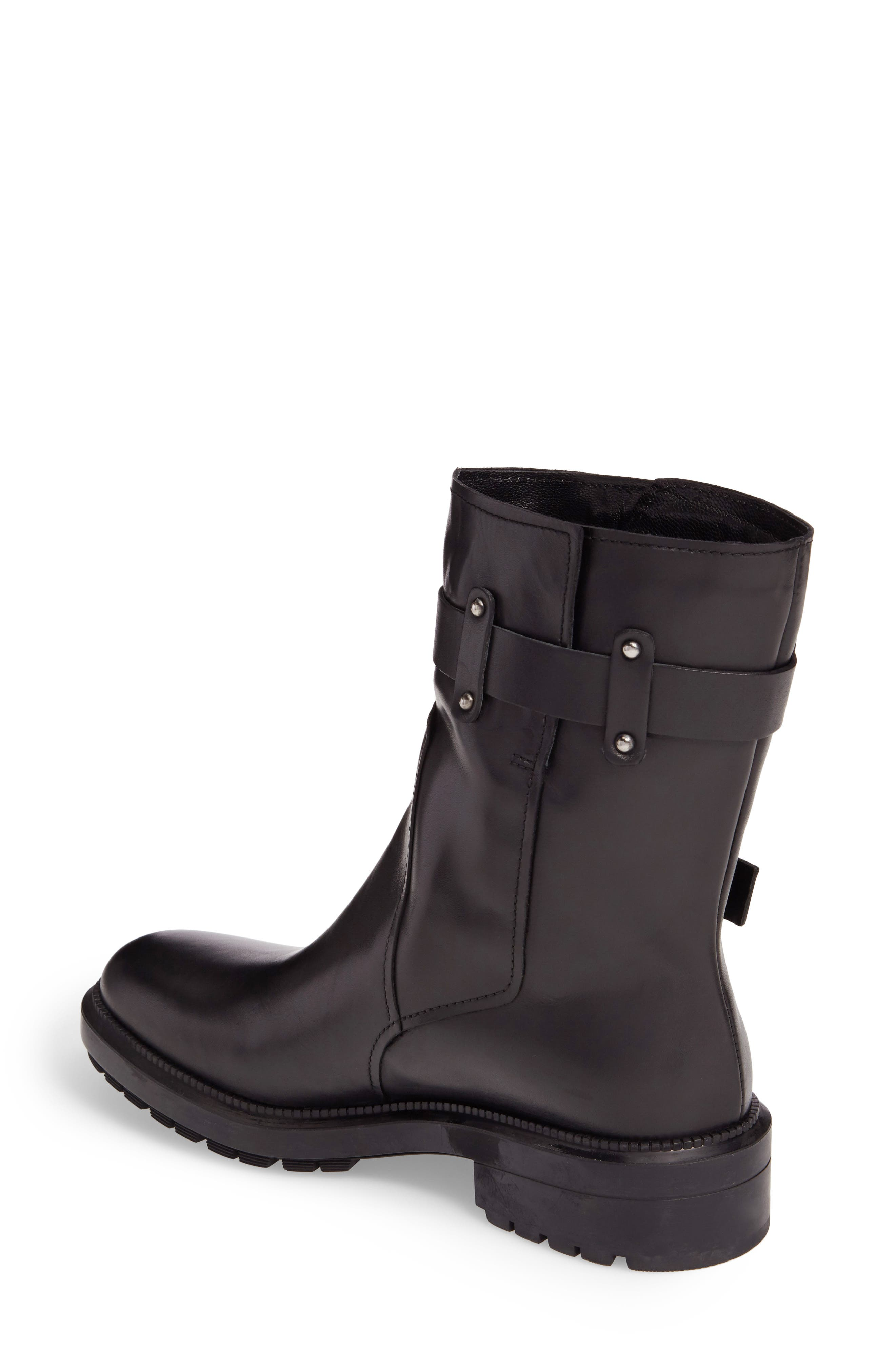 Leonie Weatherproof Leather Boot,                             Alternate thumbnail 2, color,