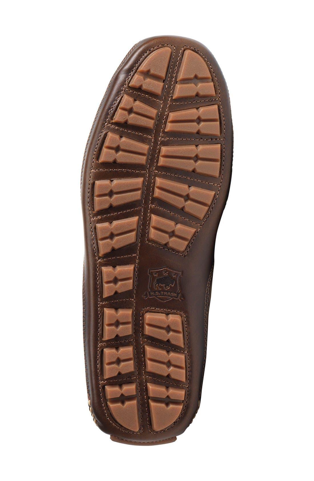'Drake' Leather Driving Shoe,                             Alternate thumbnail 18, color,