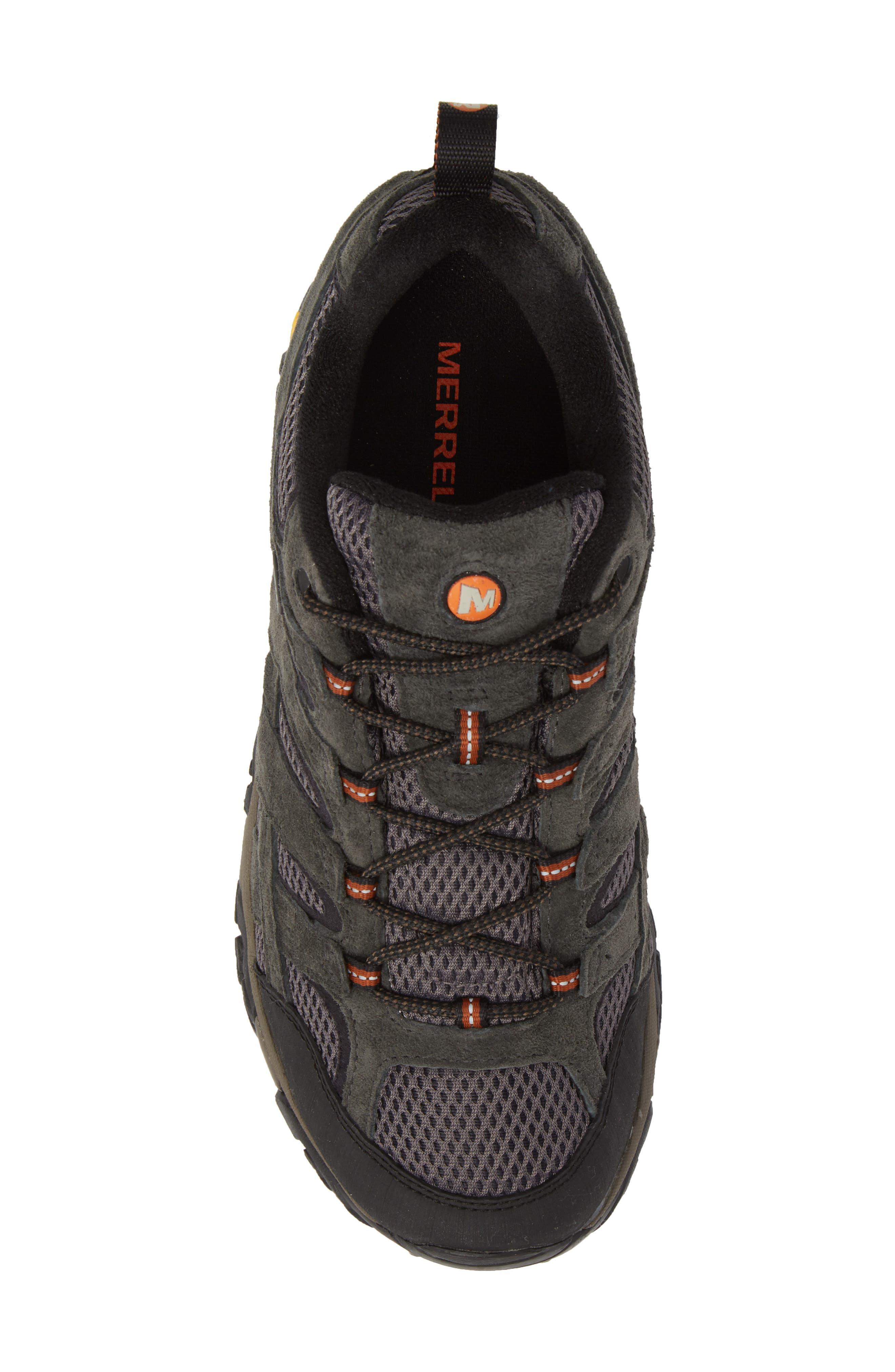 Moab 2 Waterproof HIking Shoe,                             Alternate thumbnail 5, color,                             BELUGA/ BELUGA