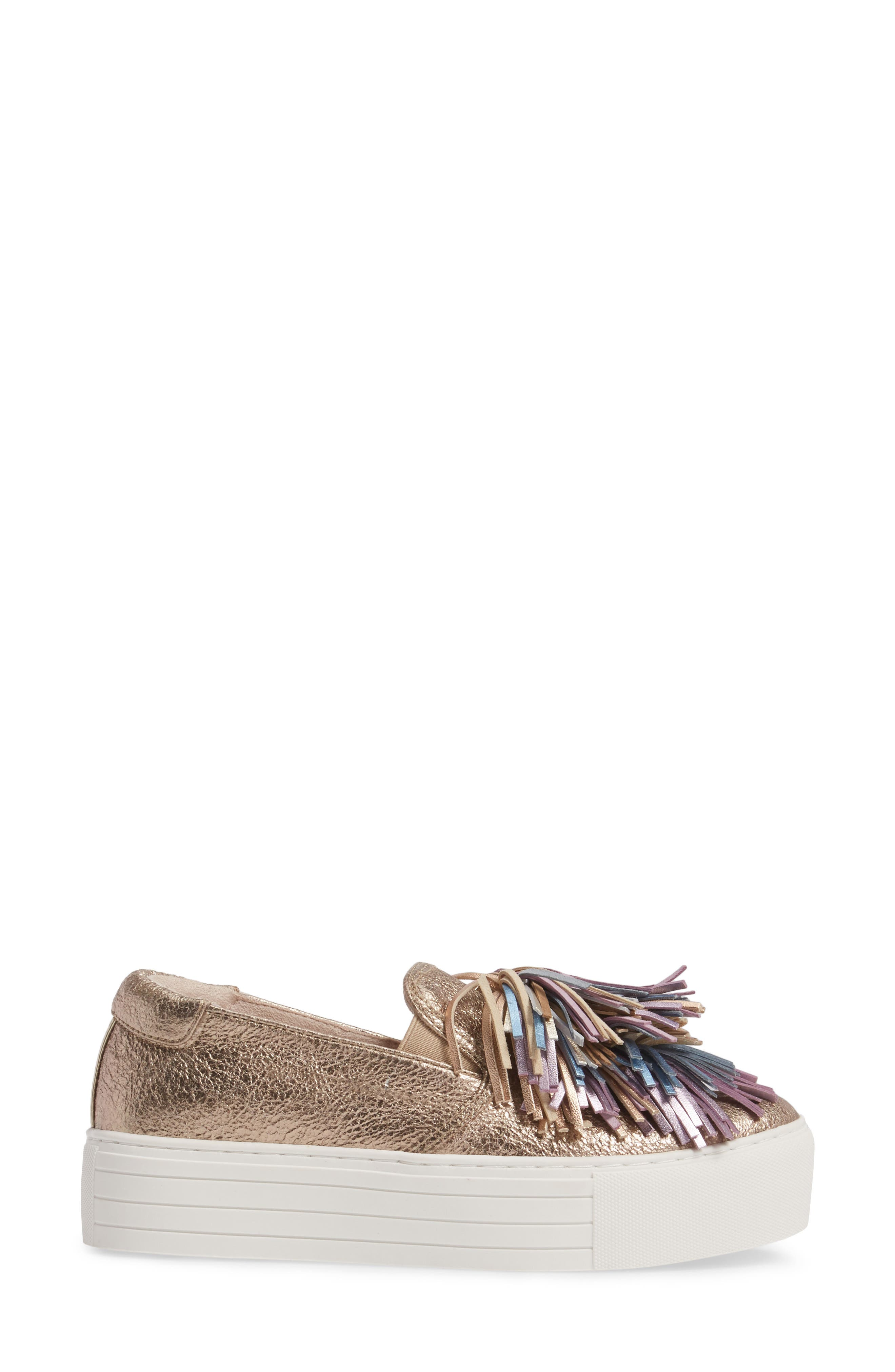 Jayson Pom Platform Sneaker,                             Alternate thumbnail 9, color,