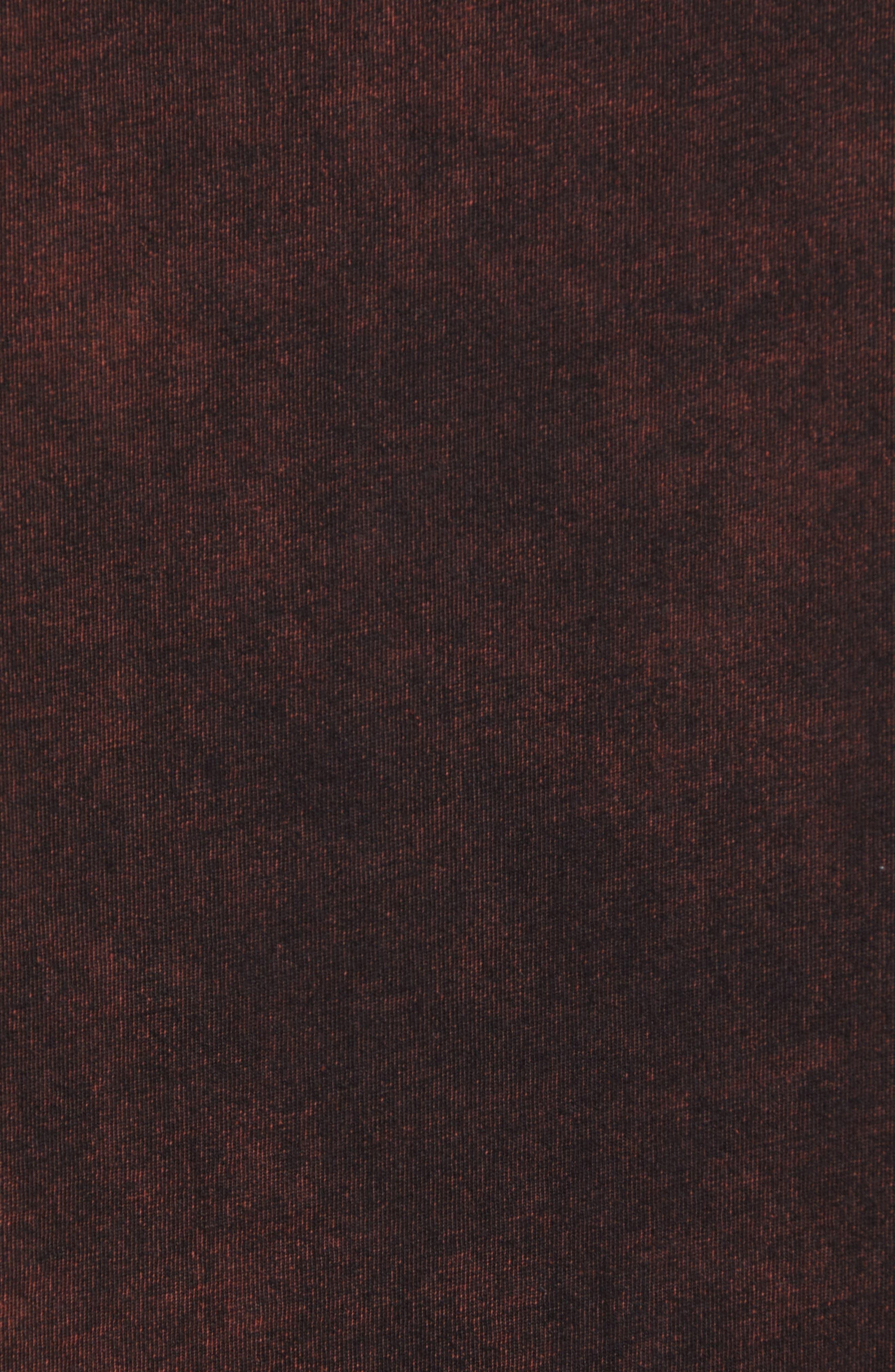 Washed Indigo Logo T-Shirt,                             Alternate thumbnail 5, color,                             INDIGO/ SUNBURST ORANGE COMBO
